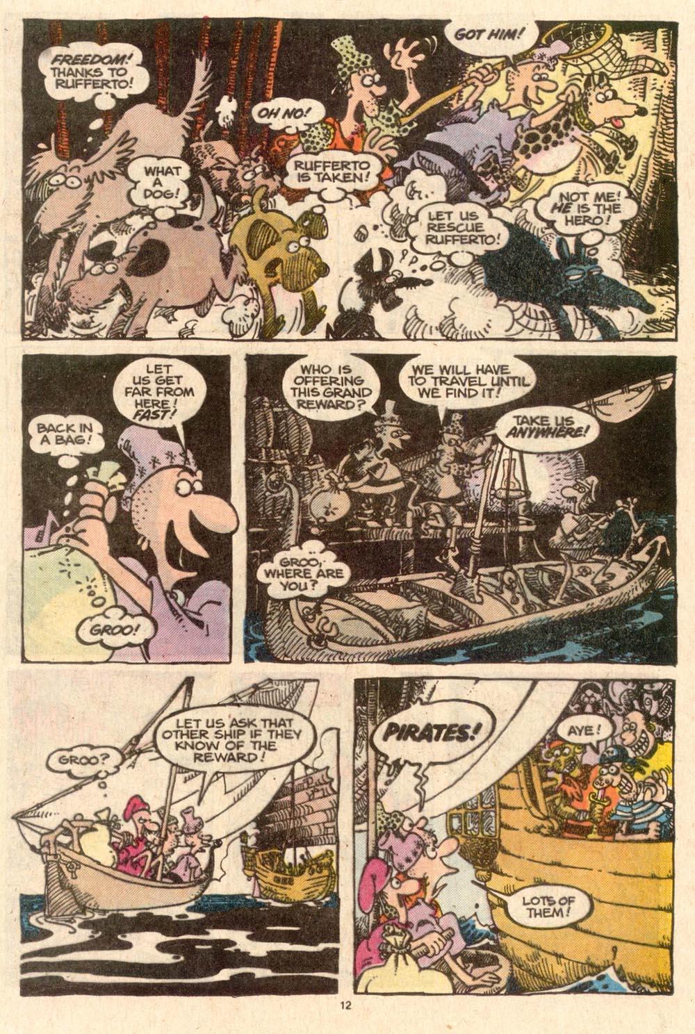 Read online Sergio Aragonés Groo the Wanderer comic -  Issue #45 - 12