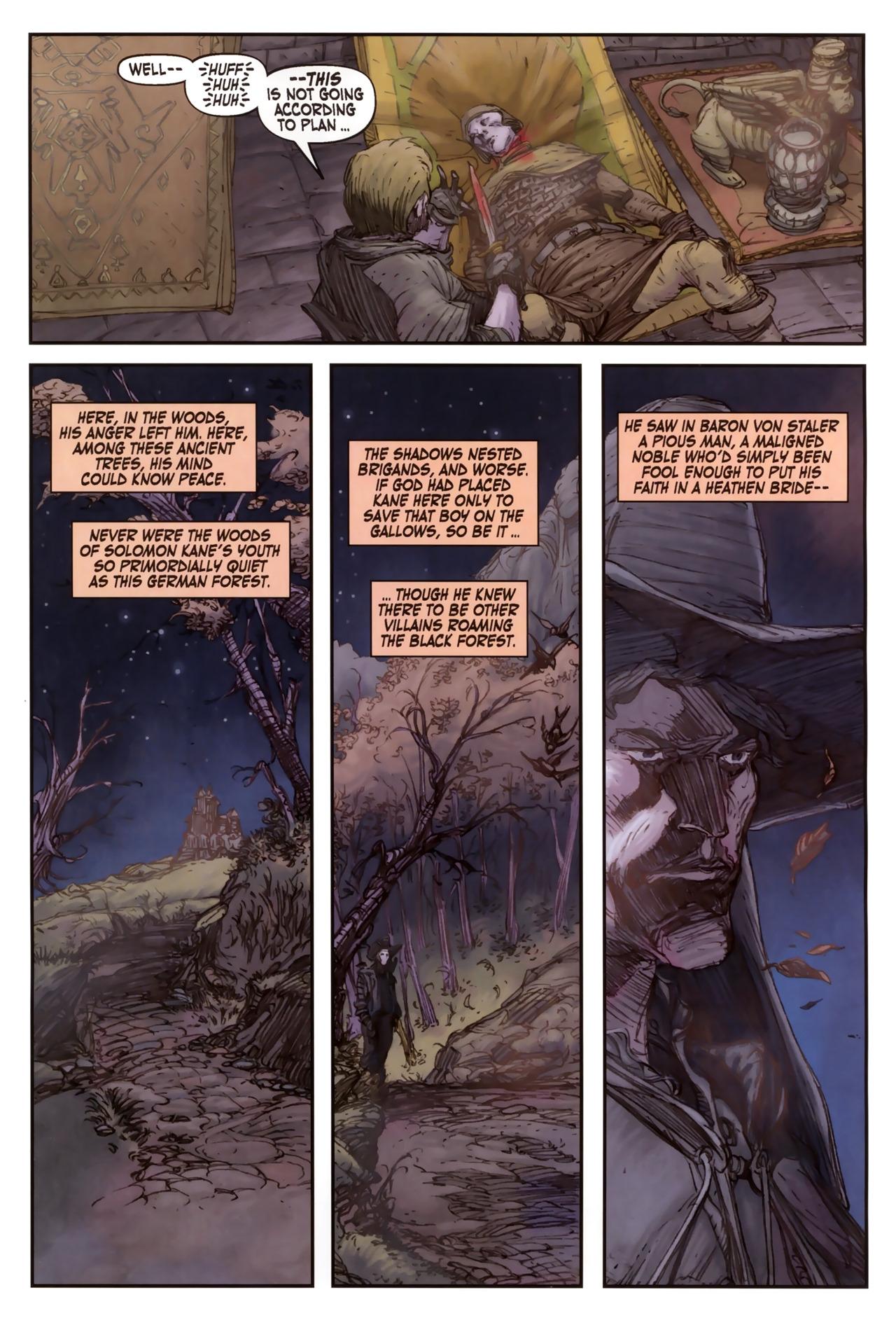 Read online Solomon Kane comic -  Issue #2 - 9