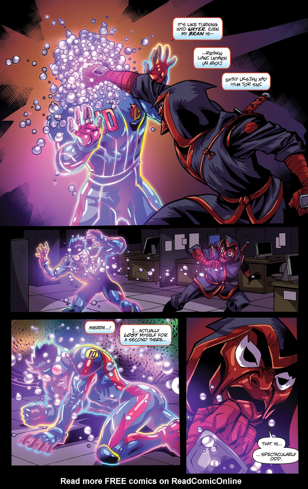 Read online Accell comic -  Issue #19 - 11