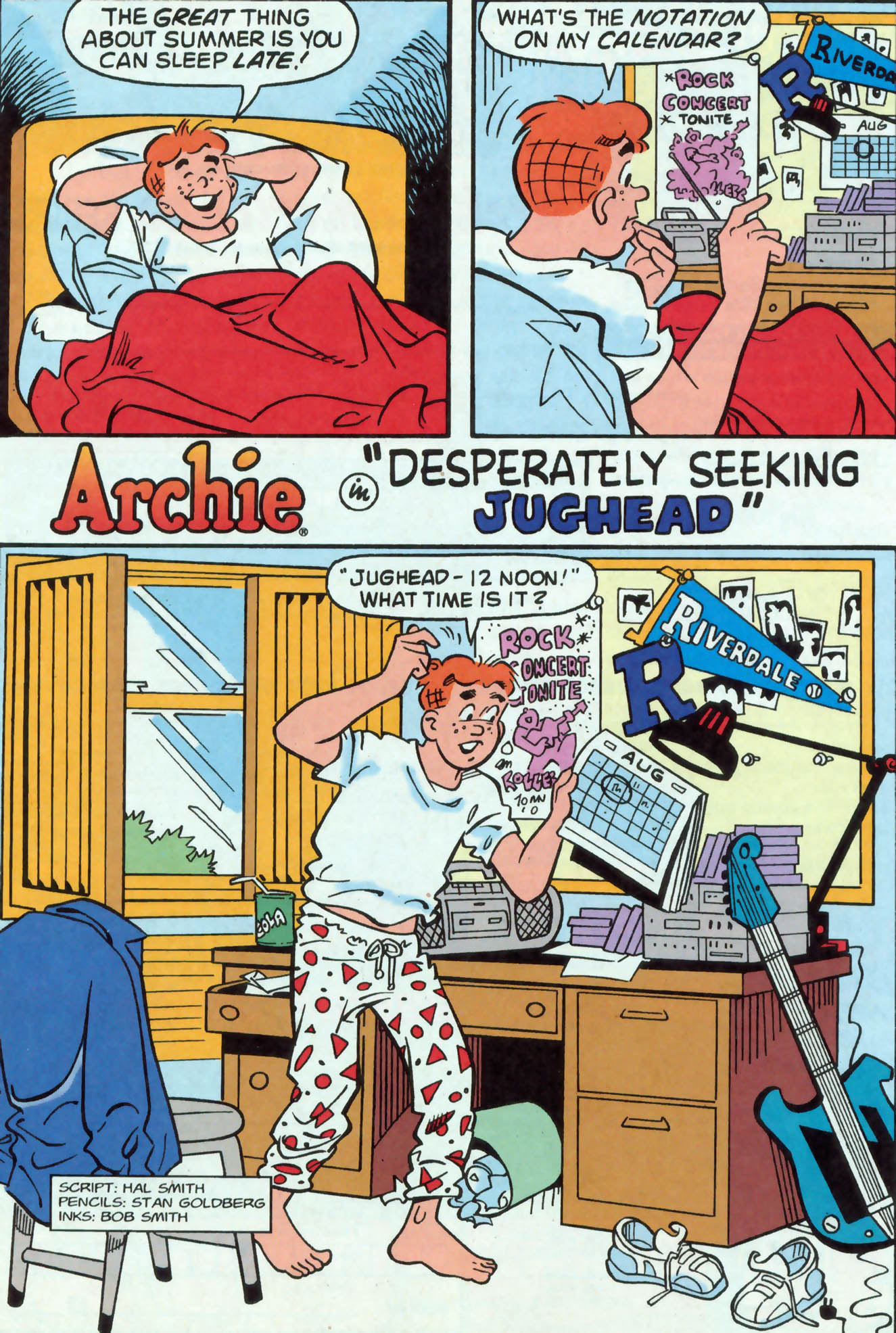 Read online Archie (1960) comic -  Issue #476 - 8