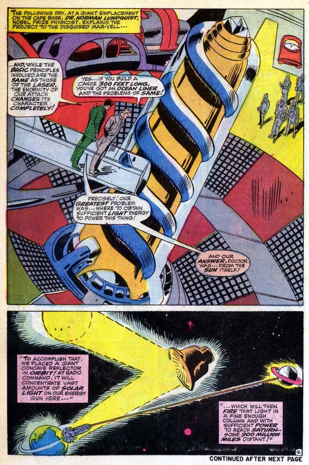 Captain Marvel (1968) Issue #6 #6 - English 10