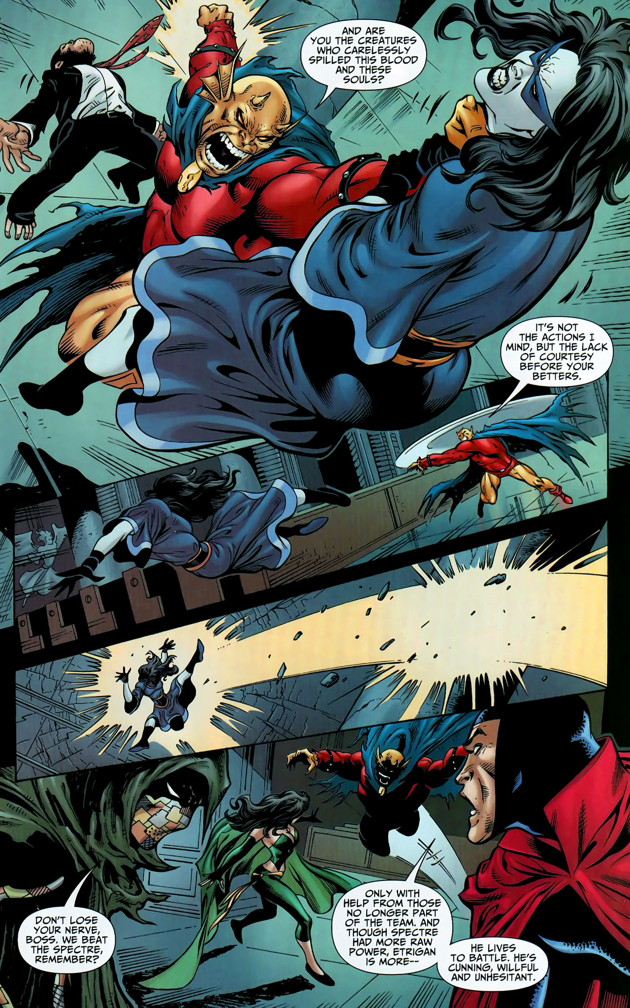 Read online Shadowpact comic -  Issue #9 - 13
