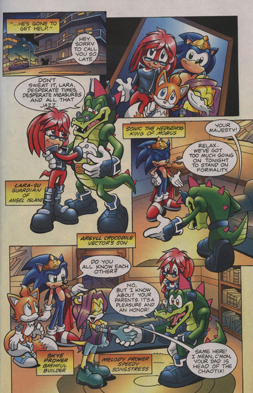Read online Sonic Universe comic -  Issue #7 - 4