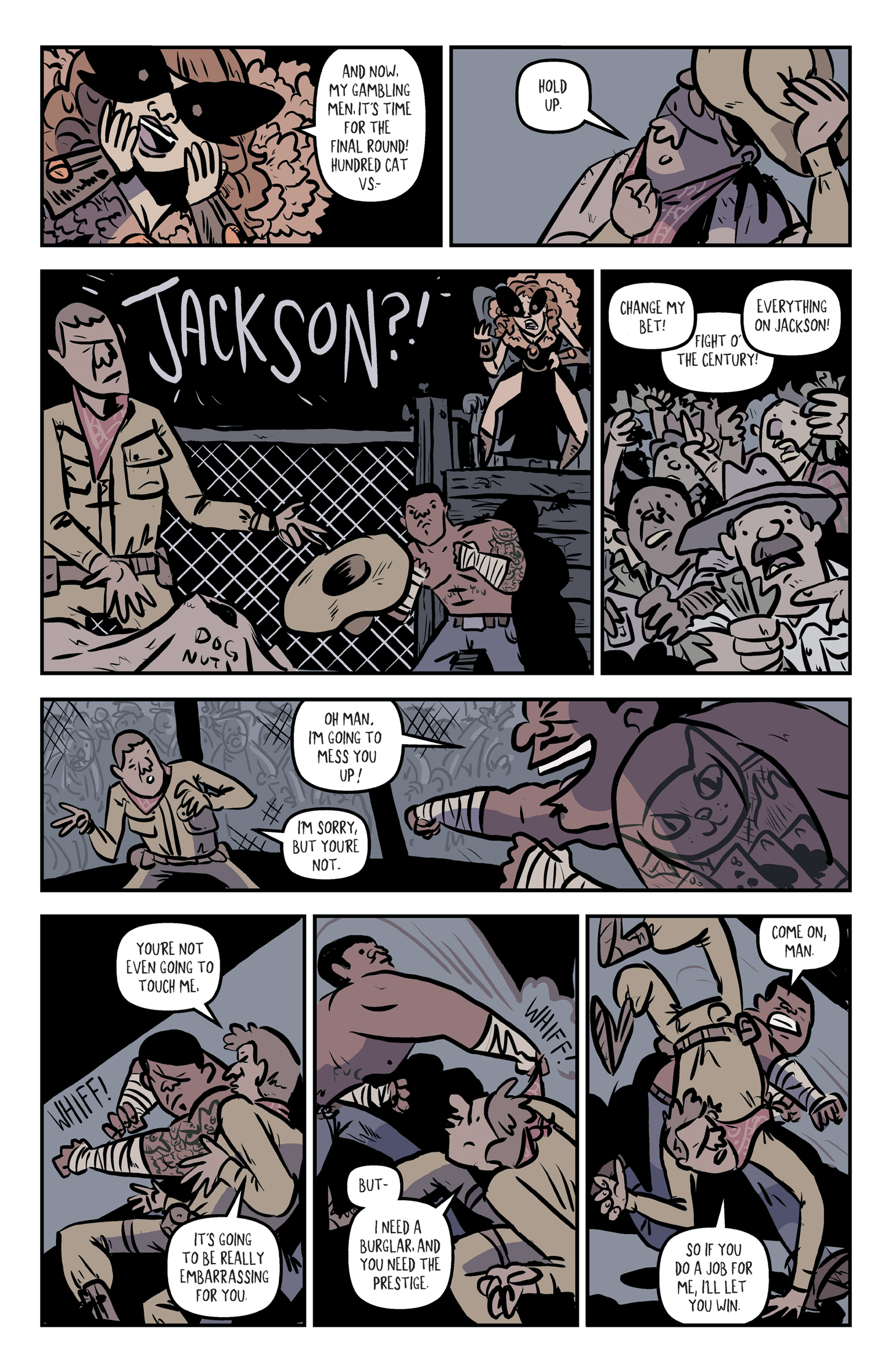 Read online Rock Candy Mountain comic -  Issue #2 - 19