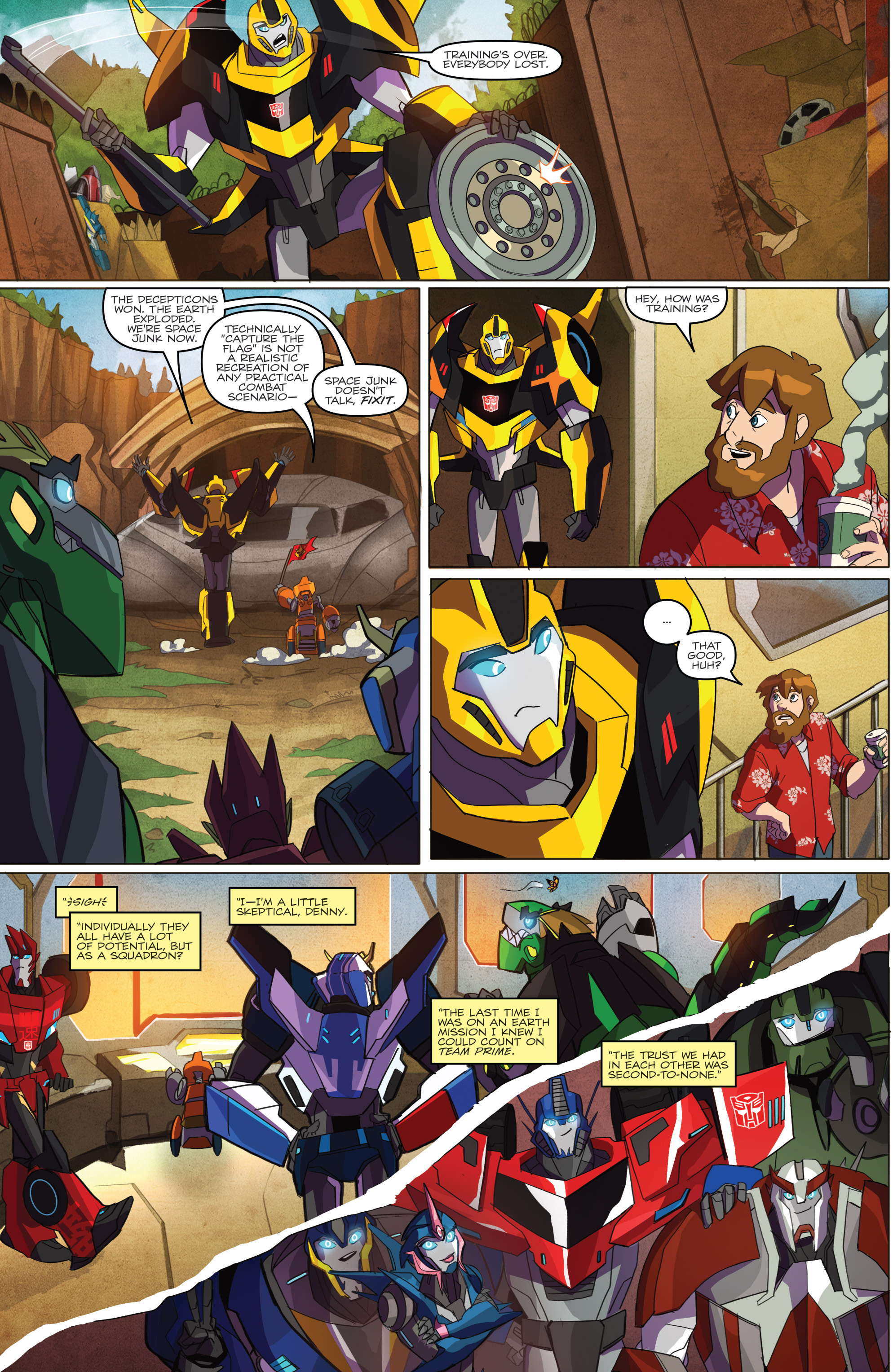 Read online Transformers: Robots In Disguise (2015) comic -  Issue #1 - 6