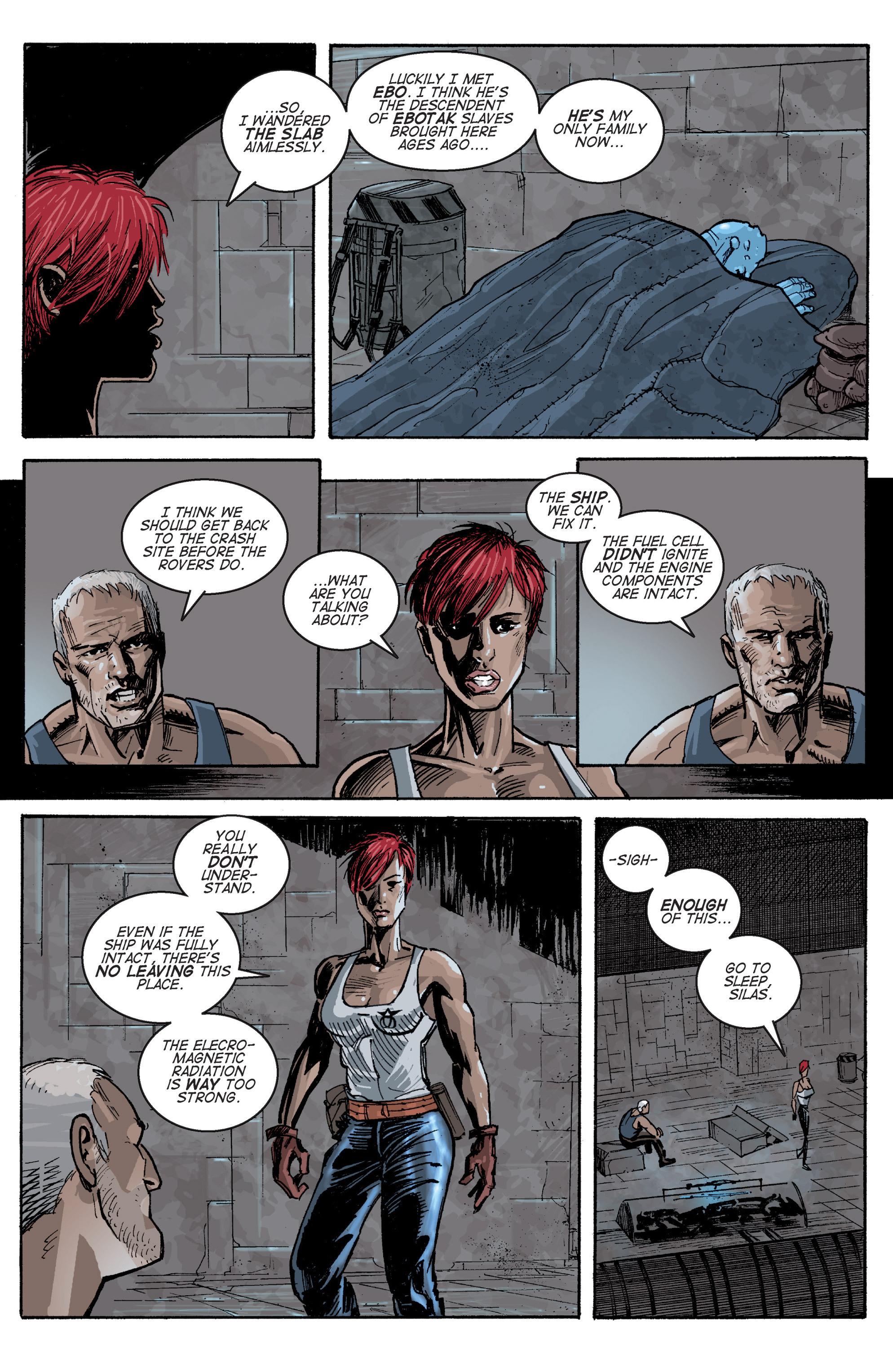 Read online Planetoid comic -  Issue # TPB - 66