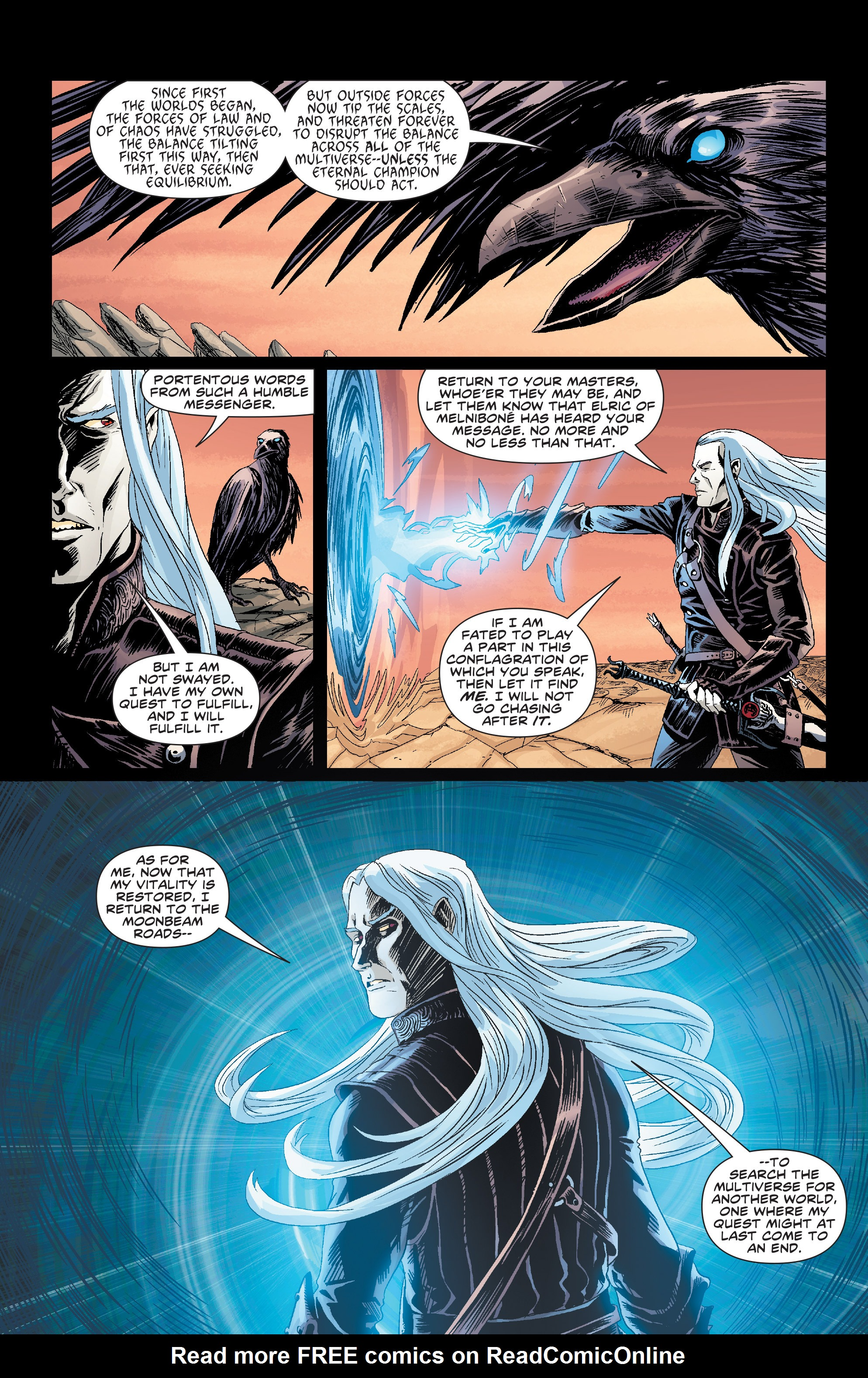 Read online Elric: The Balance Lost comic -  Issue # TPB 1 - 14