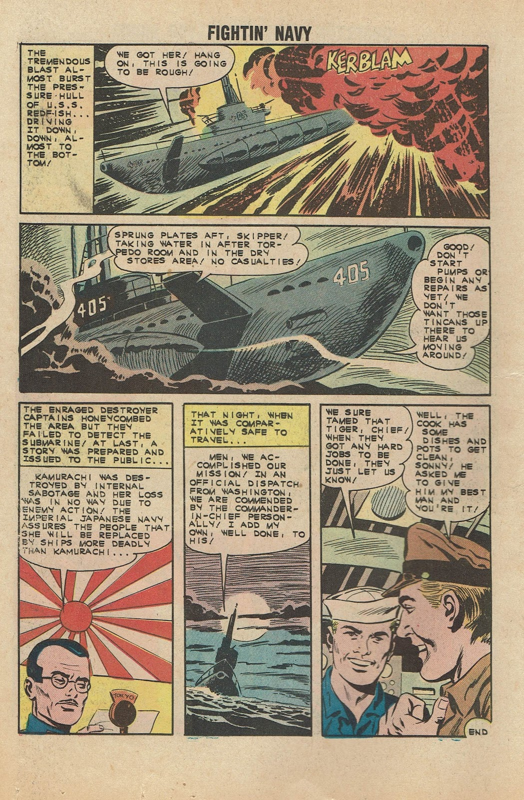 Read online Fightin' Navy comic -  Issue #104 - 18