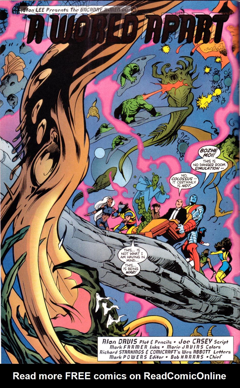 X-Men (1991) 88 Page 2