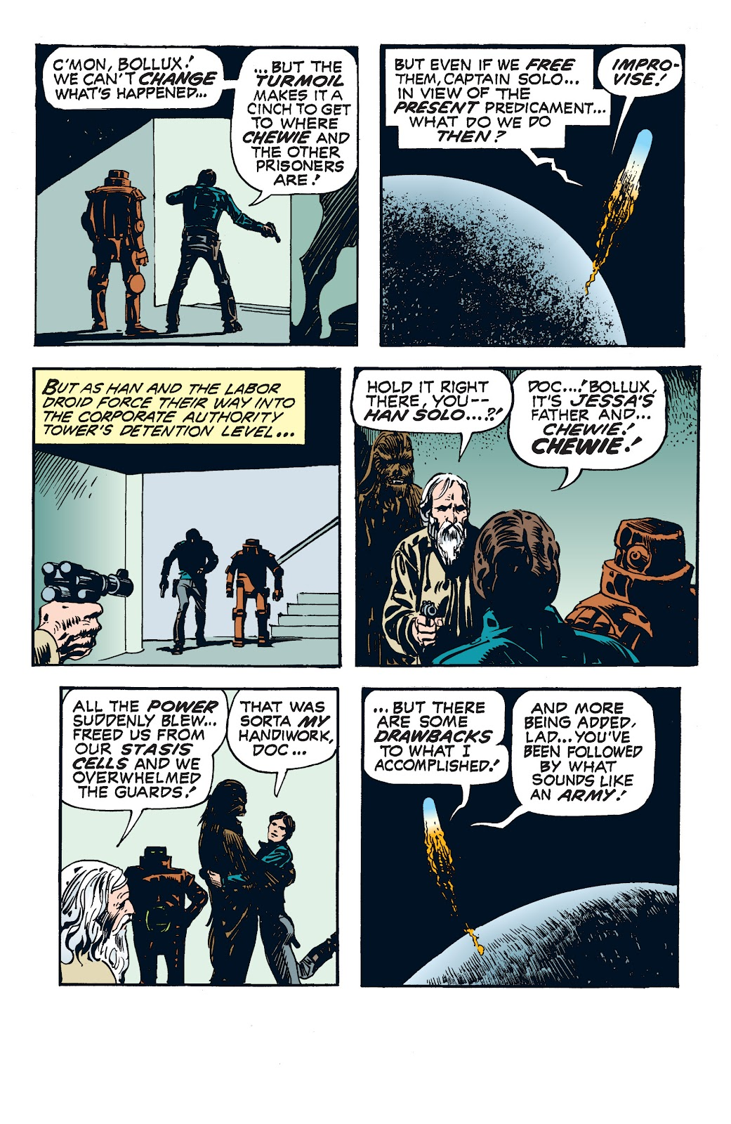 Read online Star Wars Legends: The Newspaper Strips - Epic Collection comic -  Issue # TPB (Part 4) - 66
