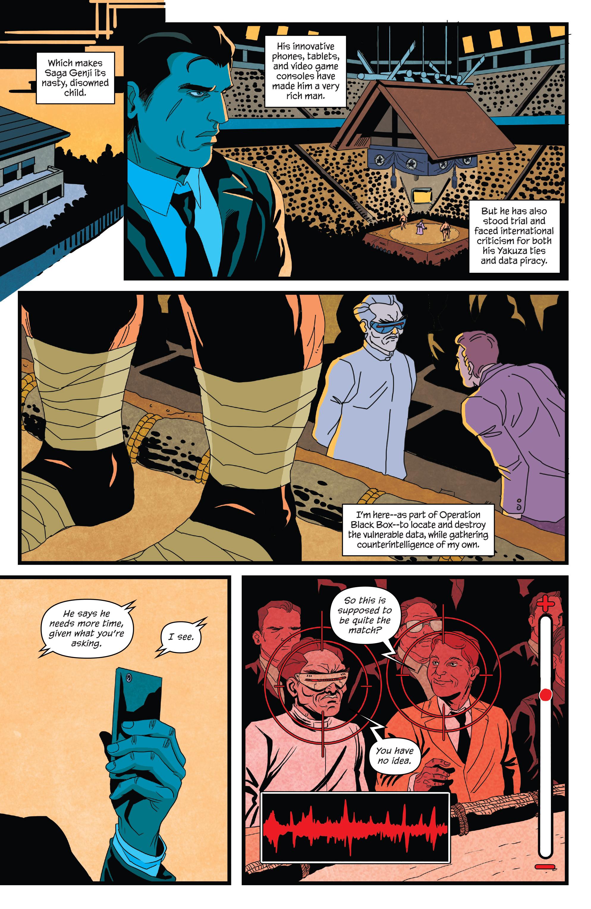 Read online James Bond (2017) comic -  Issue #3 - 11