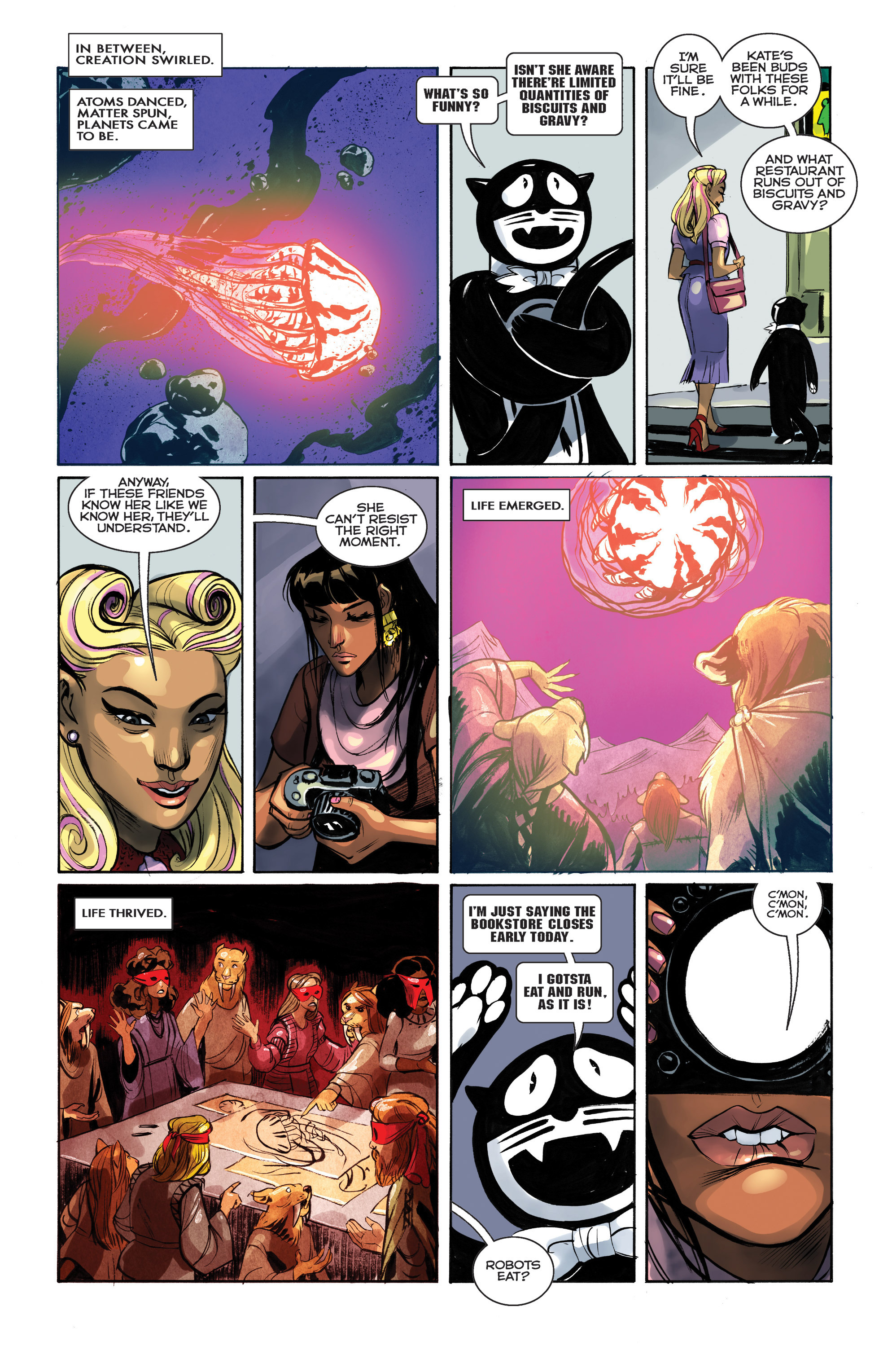 Read online Shutter comic -  Issue #25 - 4