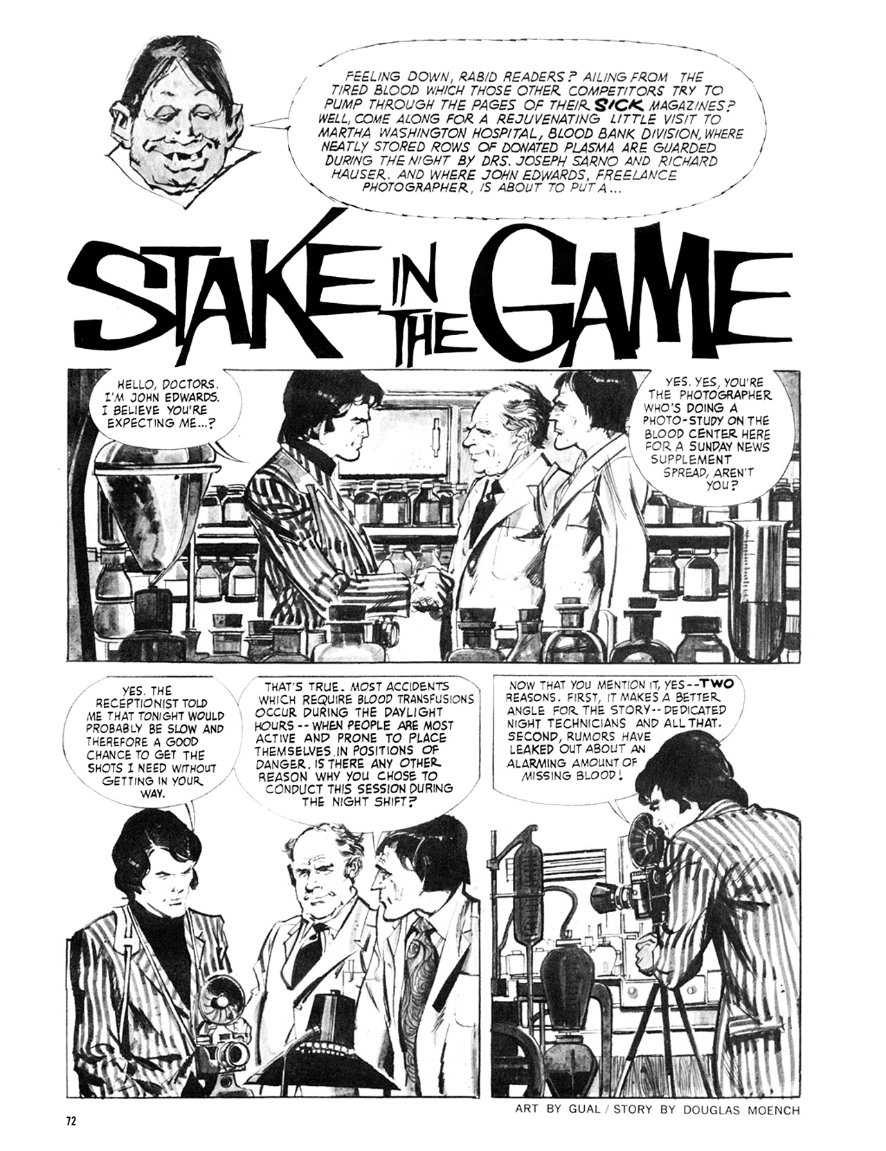 Read online Eerie Archives comic -  Issue # TPB 8 - 73