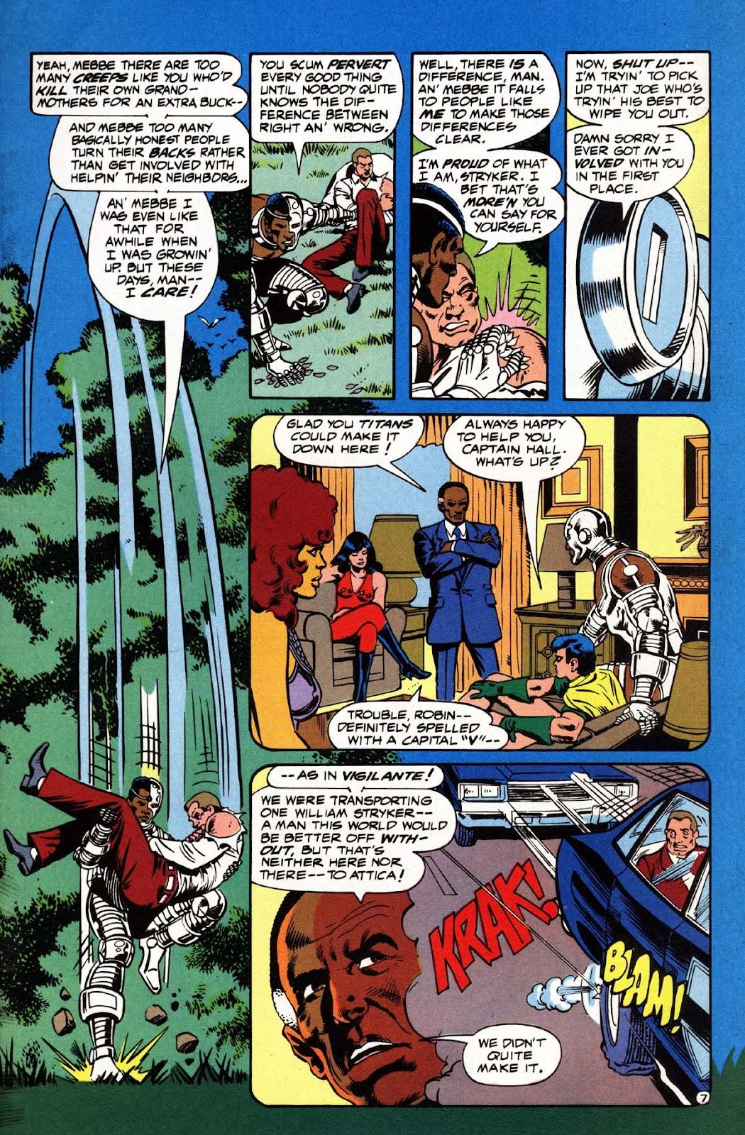 Vigilante (1983) issue 3 - Page 8