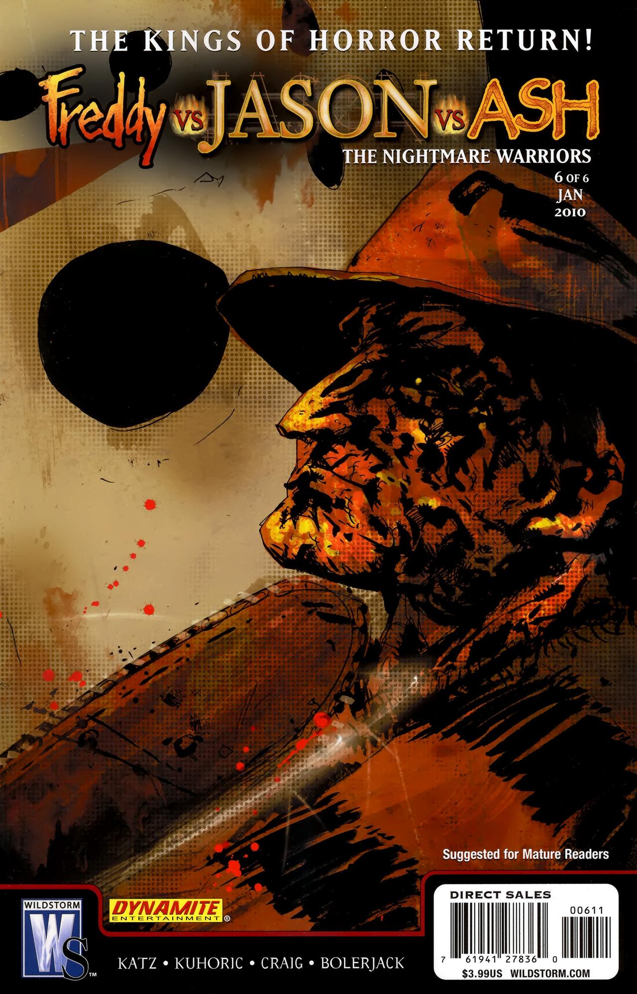 Freddy vs. Jason vs. Ash: The Nightmare Warriors 6 Page 1
