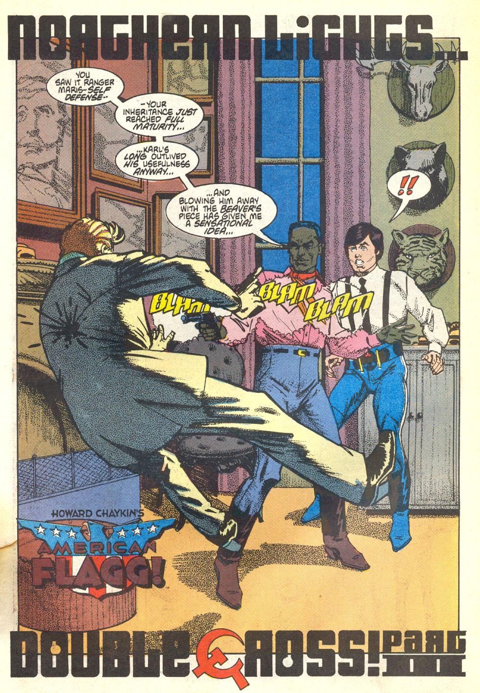 Read online American Flagg! comic -  Issue #17 - 6