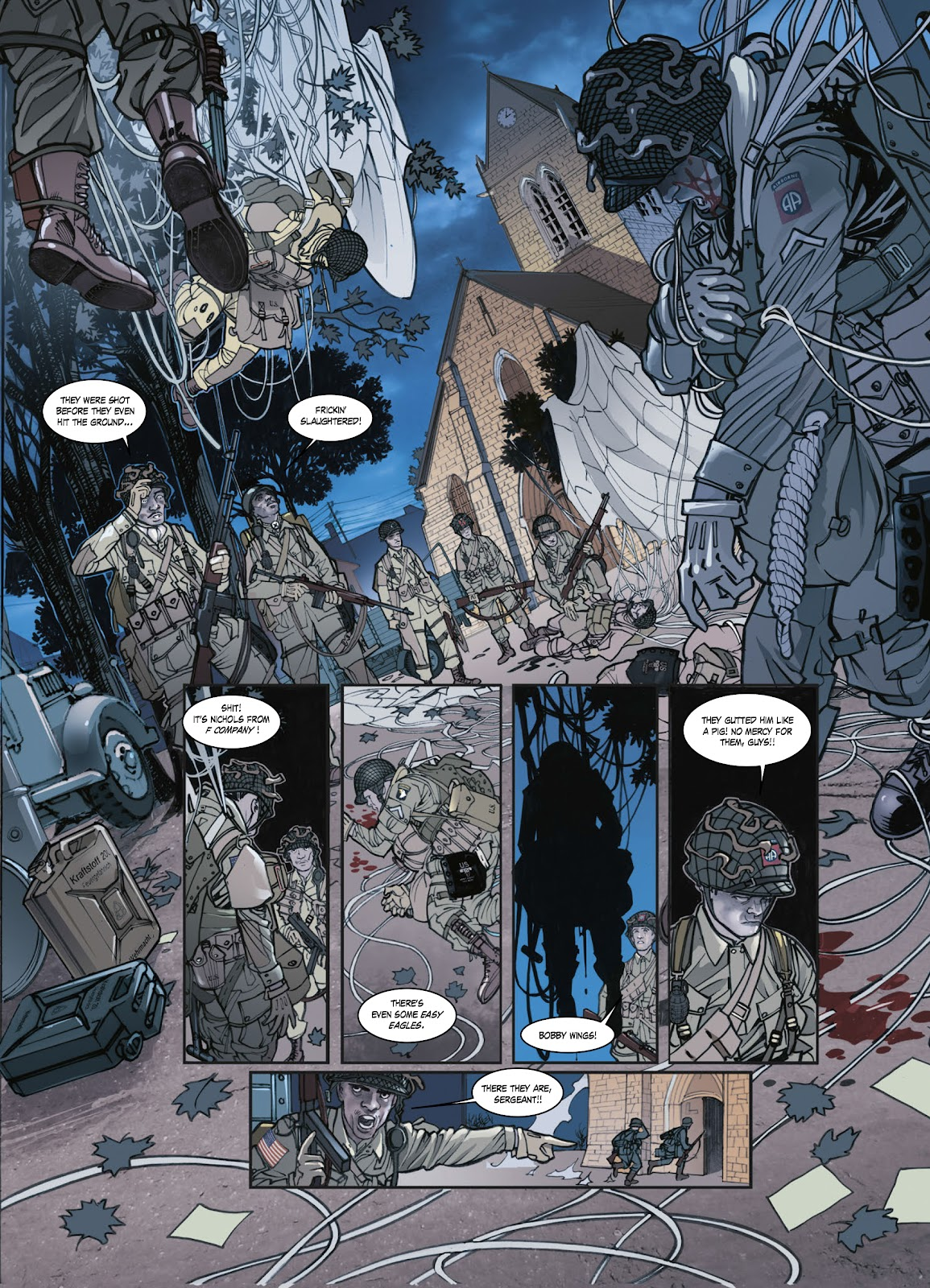 Read online Opération Overlord comic -  Issue #1 - 36