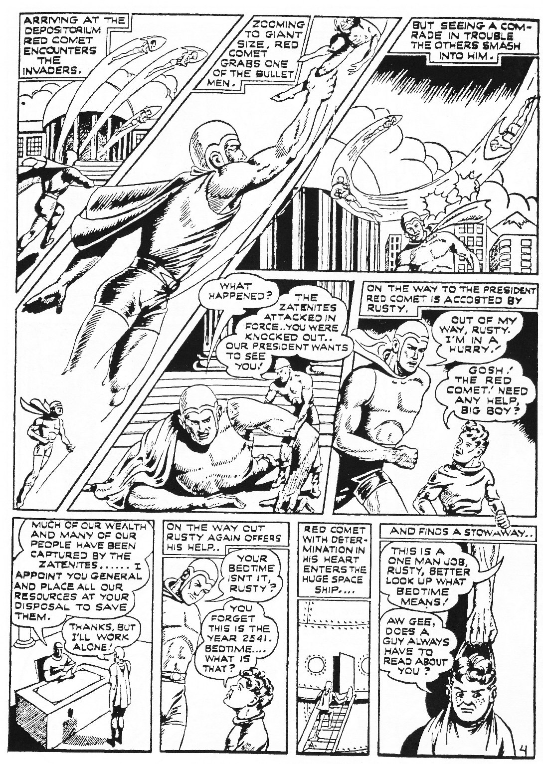 Read online Men of Mystery Comics comic -  Issue #72 - 62