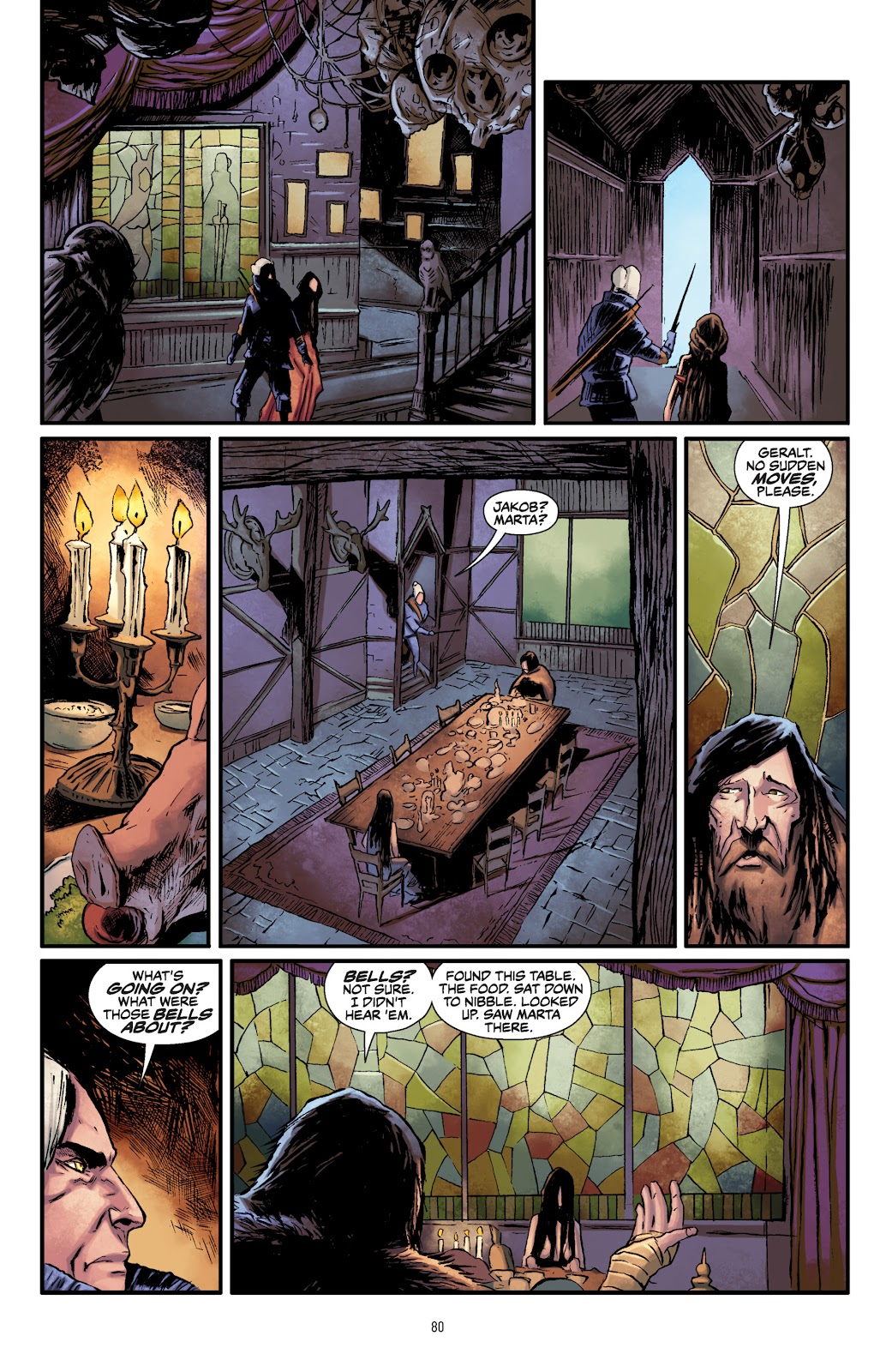 Read online The Witcher Omnibus comic -  Issue # TPB (Part 1) - 78