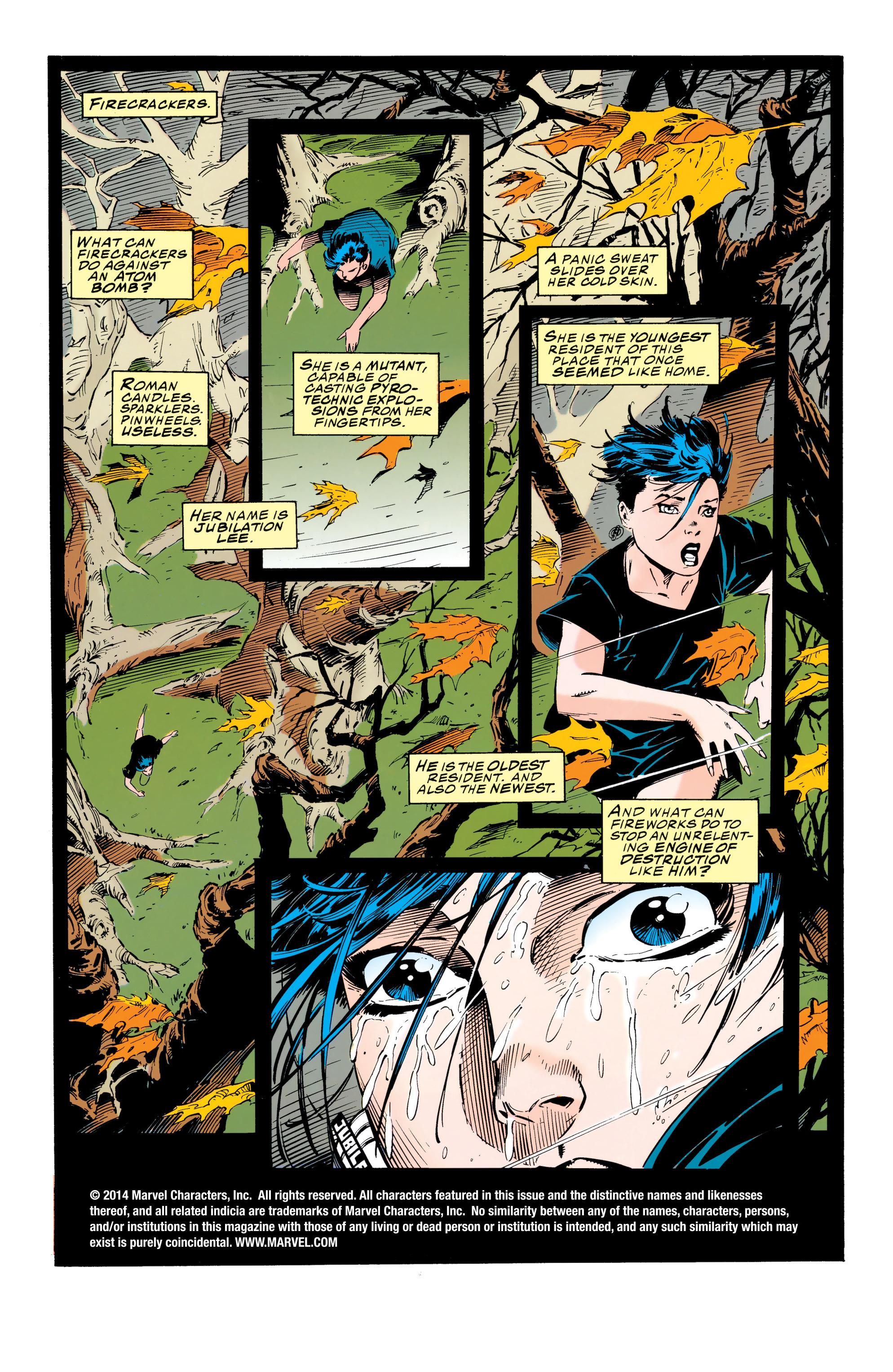 X-Men (1991) 28 Page 1