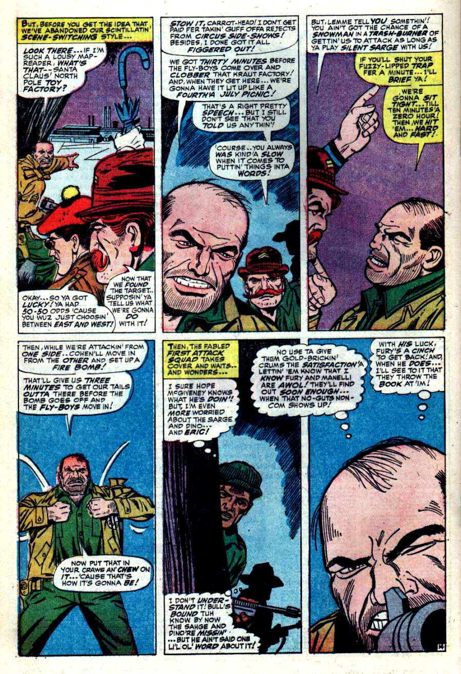 Read online Sgt. Fury comic -  Issue #42 - 20