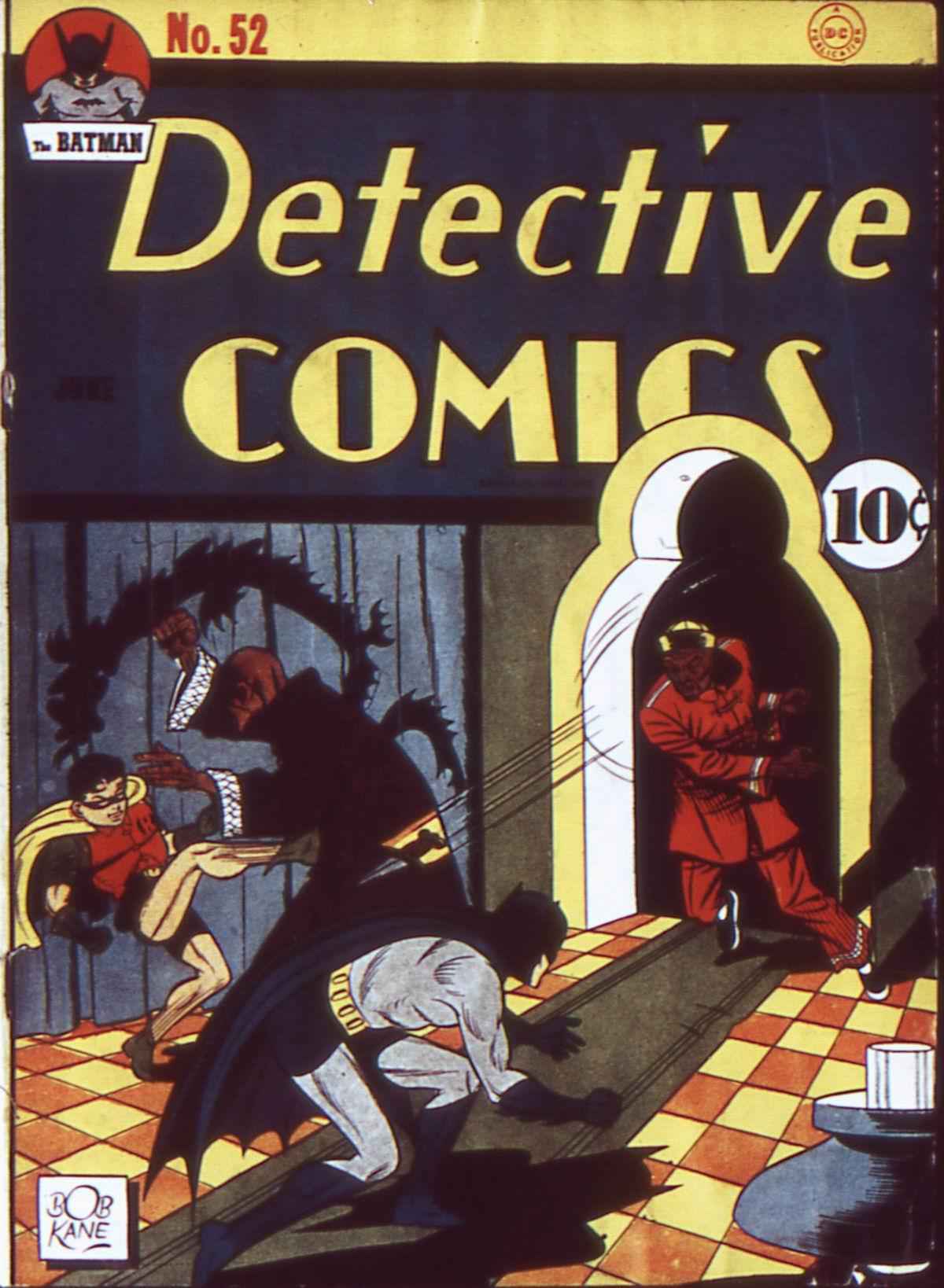 Read online Detective Comics (1937) comic -  Issue #52 - 1