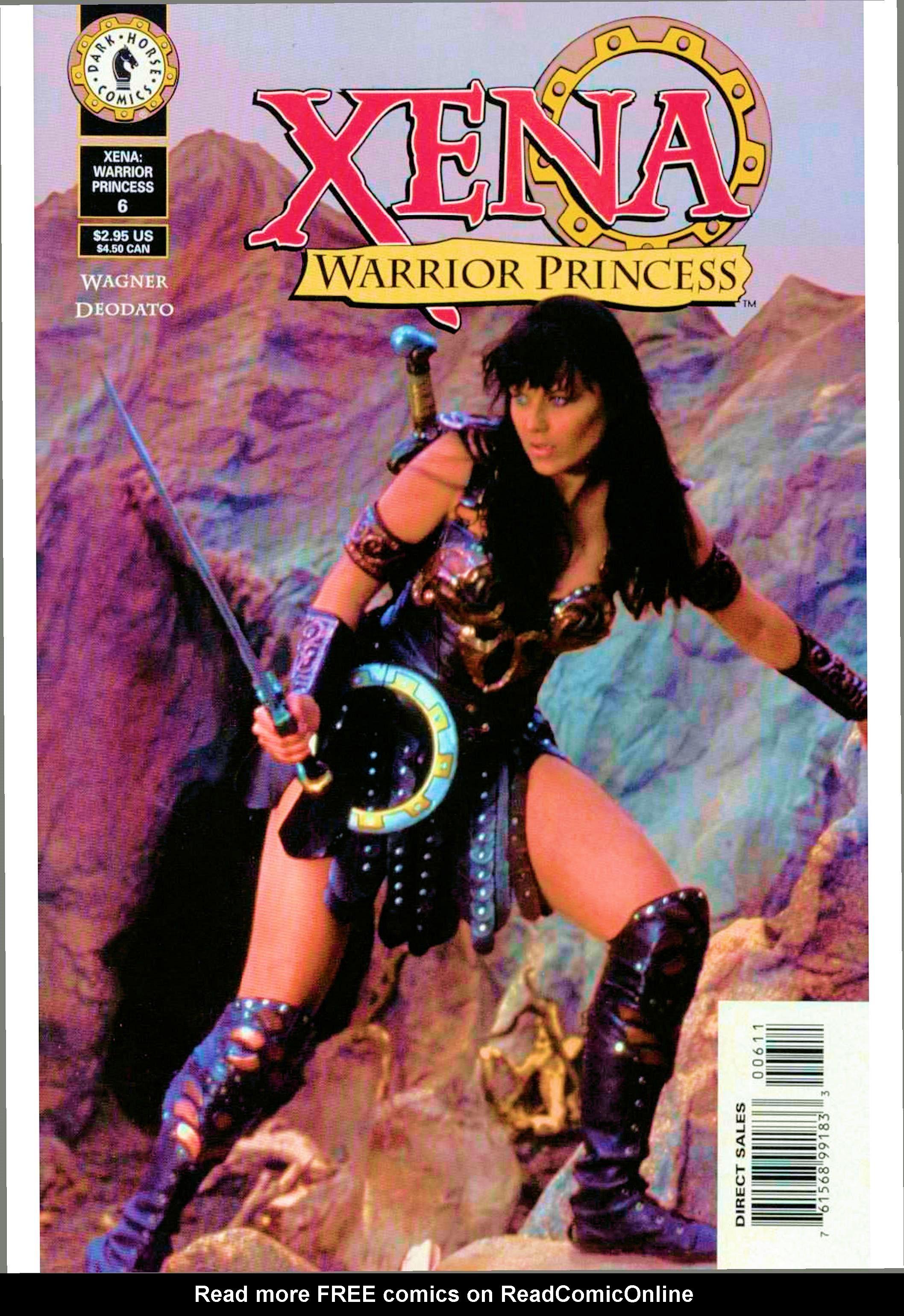 Read online Xena: Warrior Princess (1999) comic -  Issue #6 - 2