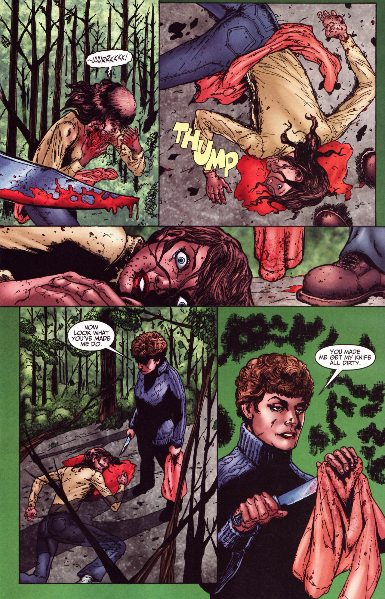 Read online Friday the 13th: Pamela's Tale comic -  Issue #2 - 9