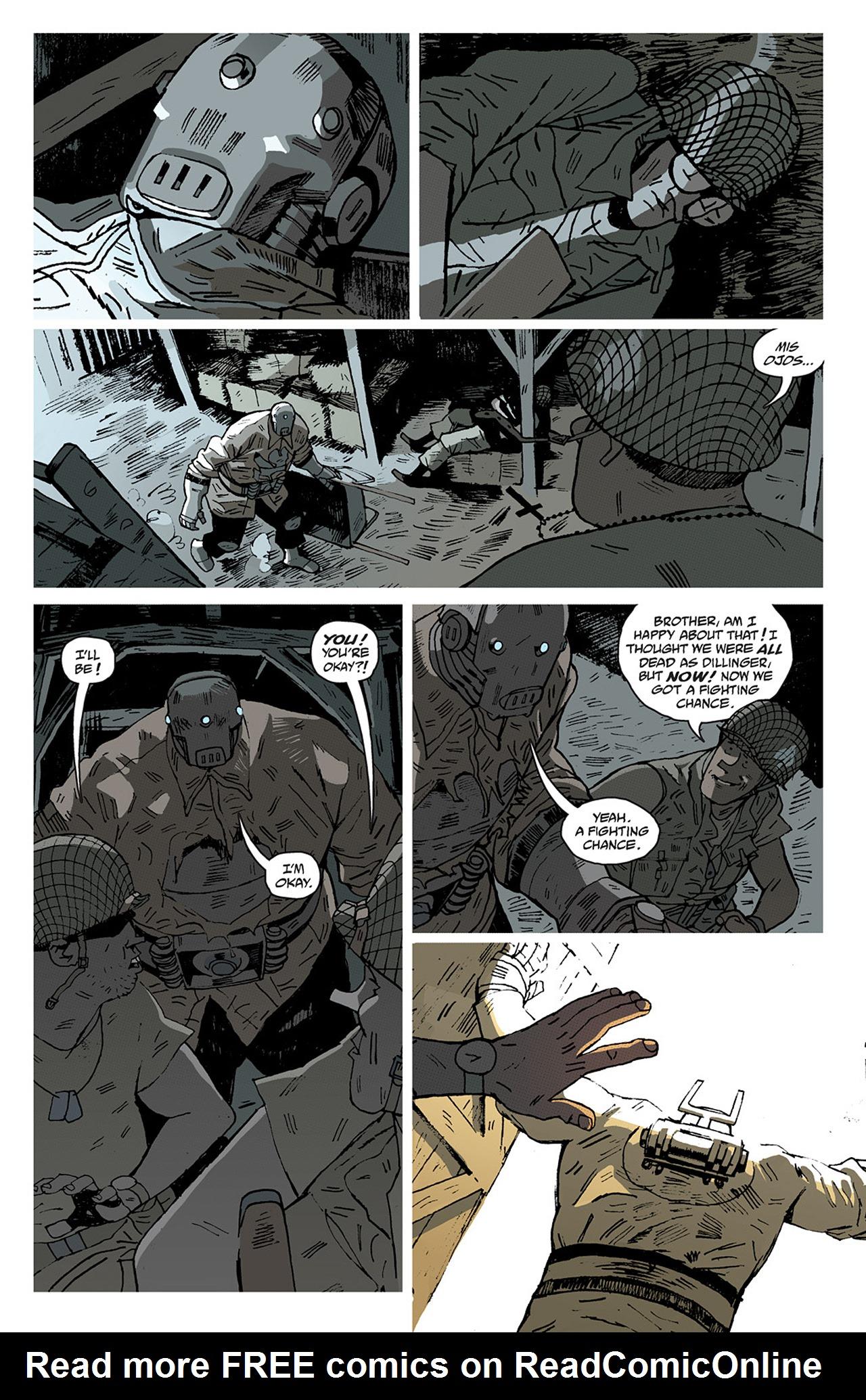 Read online Sledgehammer 44 comic -  Issue #2 - 20