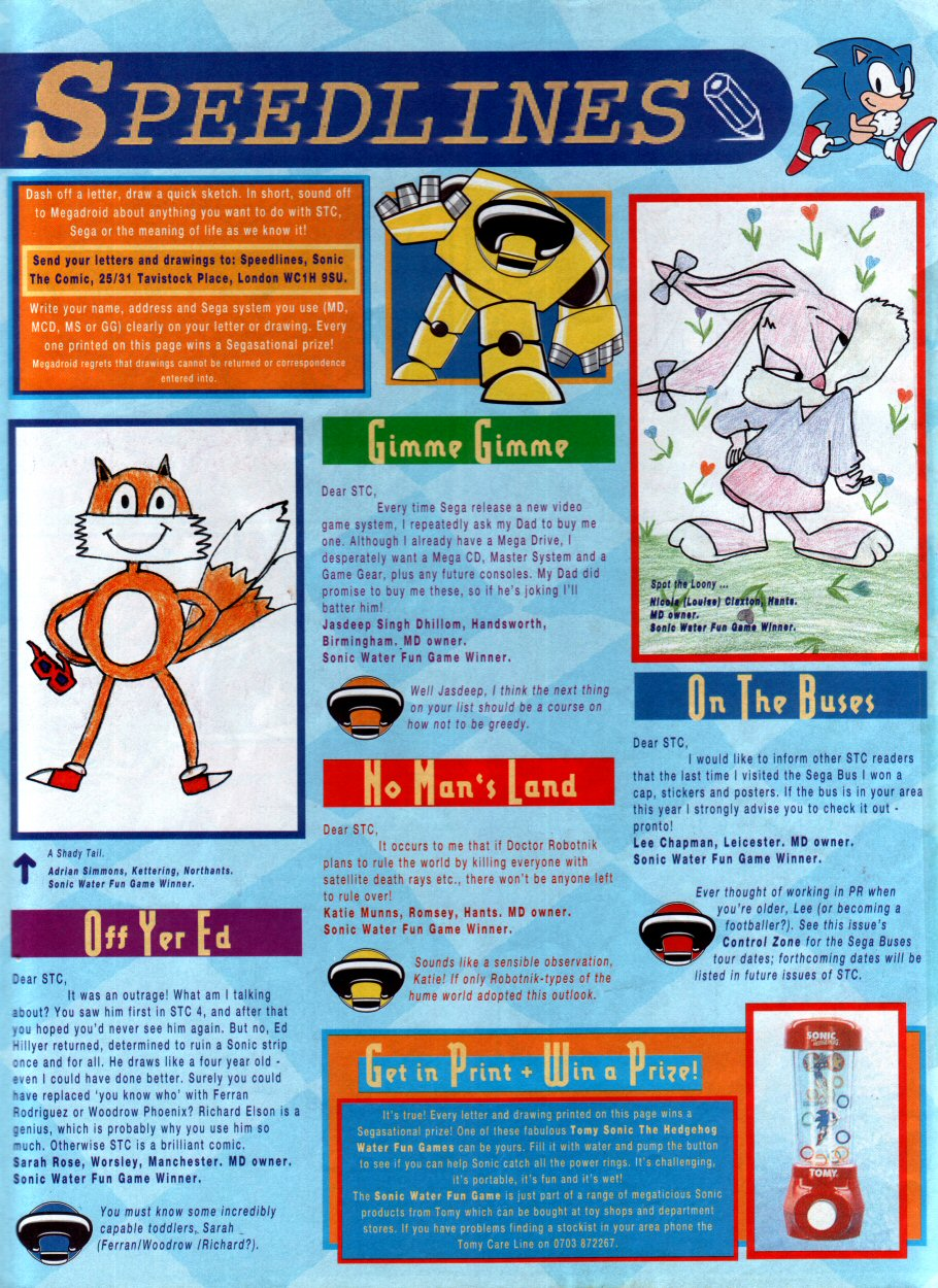 Read online Sonic the Comic comic -  Issue #29 - 30