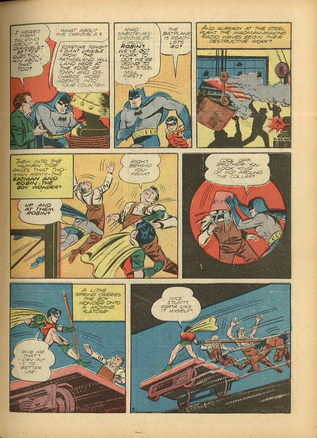 Read online Detective Comics (1937) comic -  Issue #55 - 11