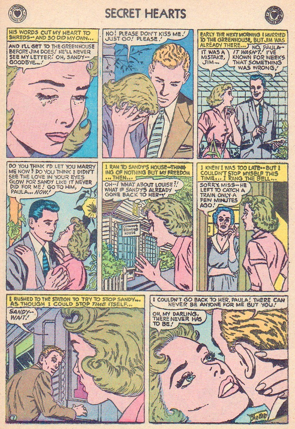 Read online Secret Hearts comic -  Issue #44 - 25