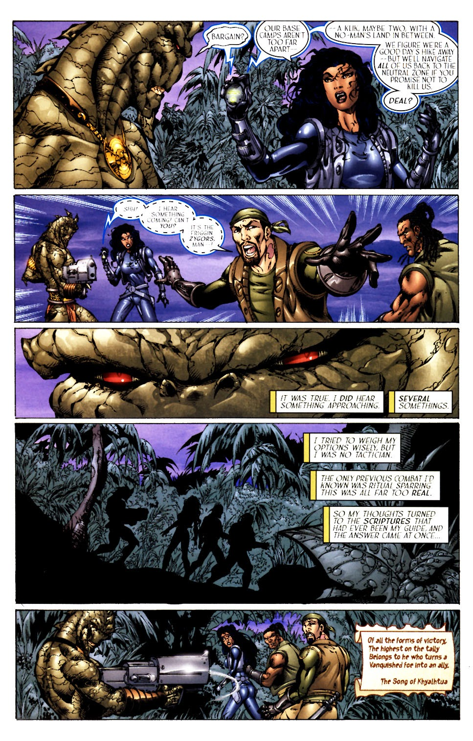 Read online Saurians: Unnatural Selection comic -  Issue #1 - 11