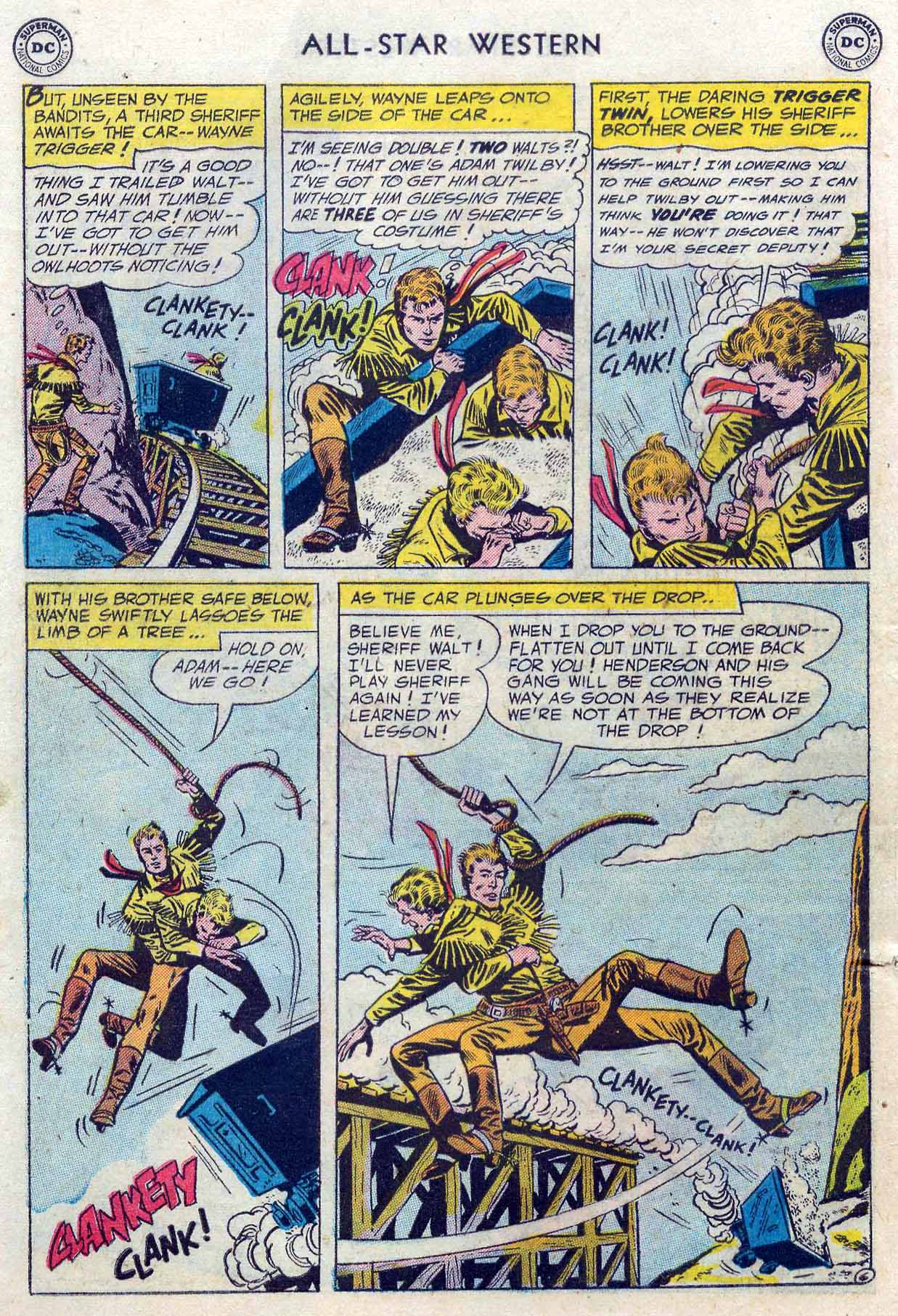 Read online All-Star Western (1951) comic -  Issue #85 - 8