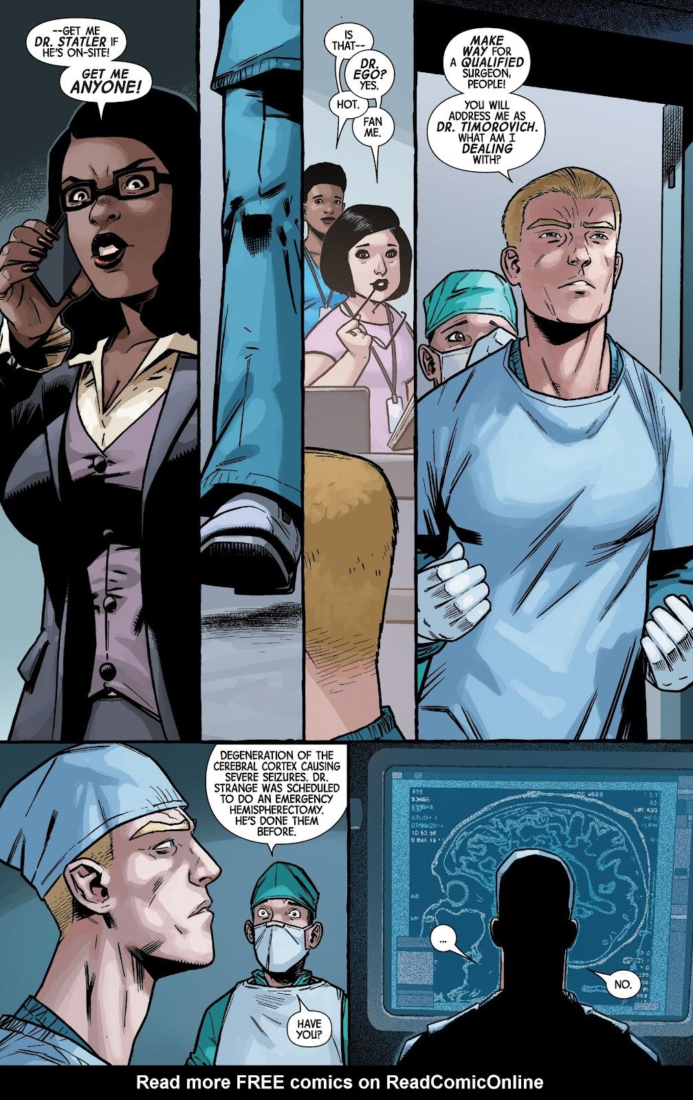 Read online Dr. Strange comic -  Issue #4 - 6