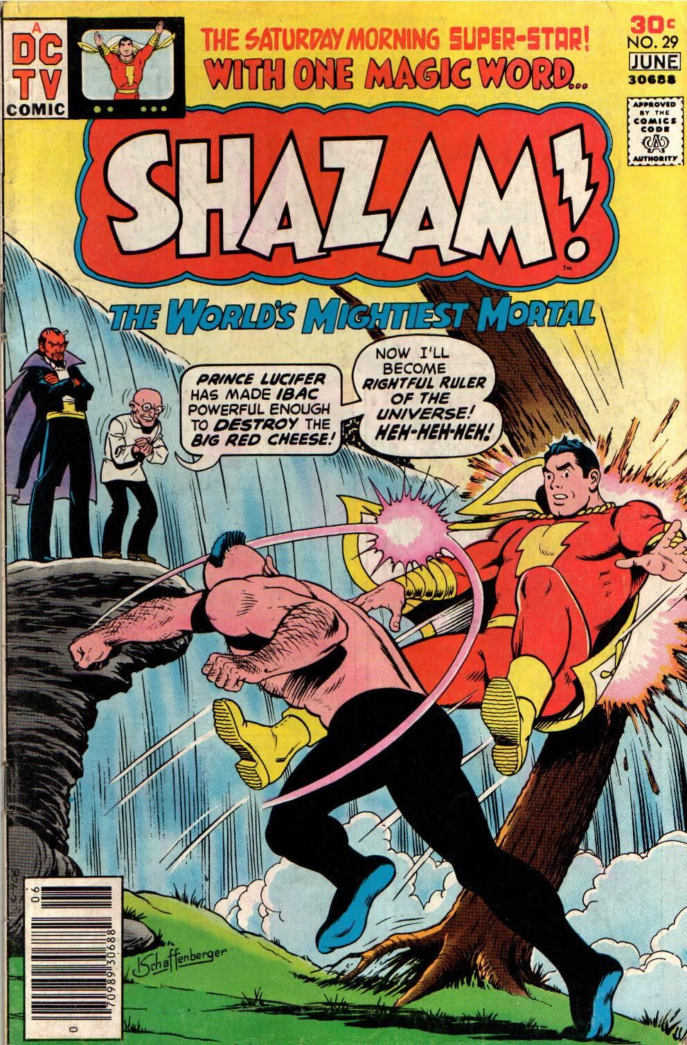 Read online Shazam! (1973) comic -  Issue #29 - 1