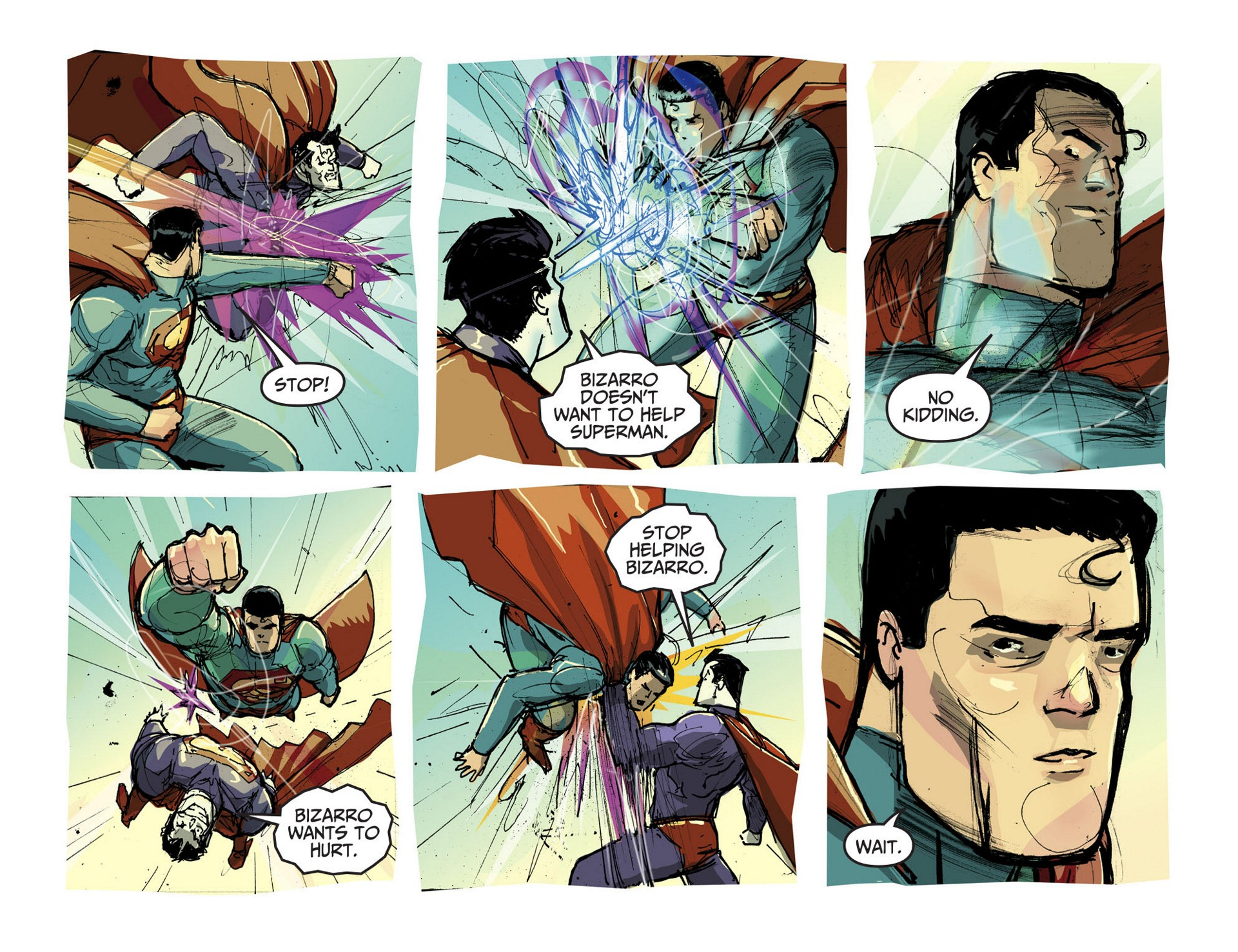 Read online Adventures of Superman [I] comic -  Issue #3 - 16