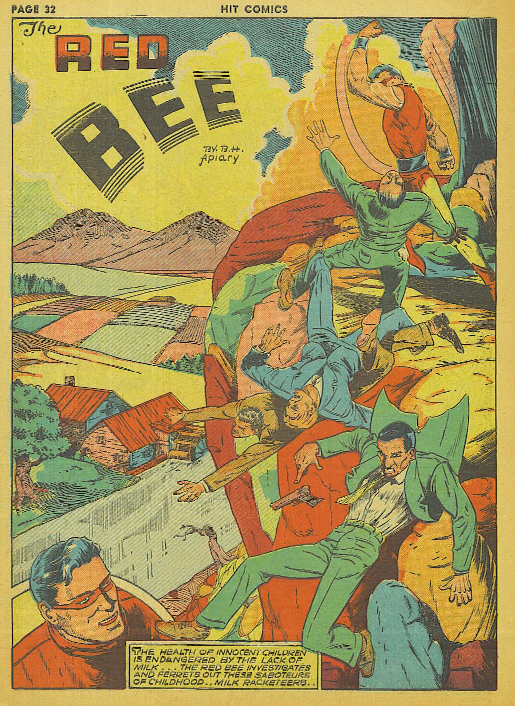 Read online Hit Comics comic -  Issue #13 - 34