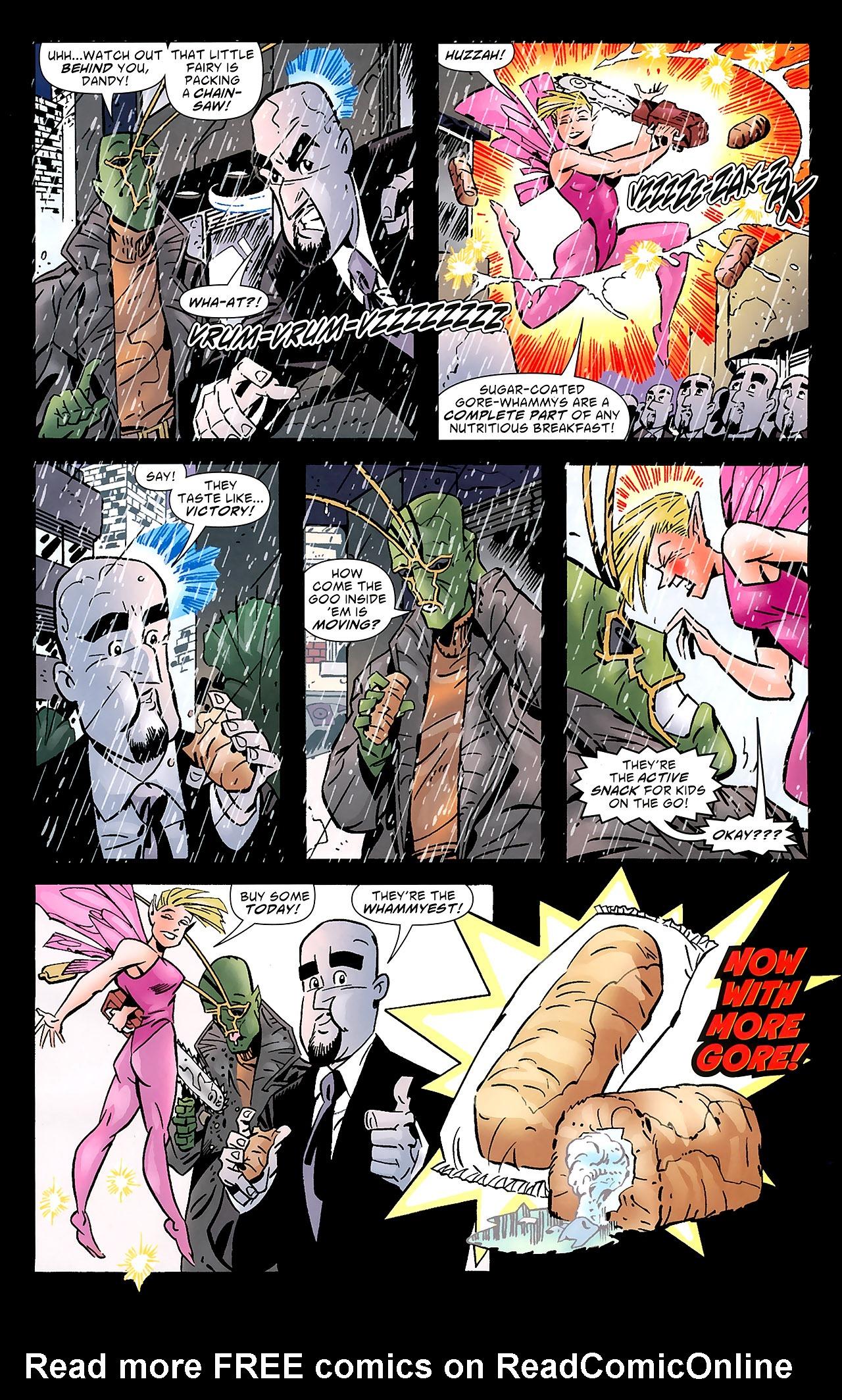 Read online Ambush Bug: Year None comic -  Issue #7 - 16