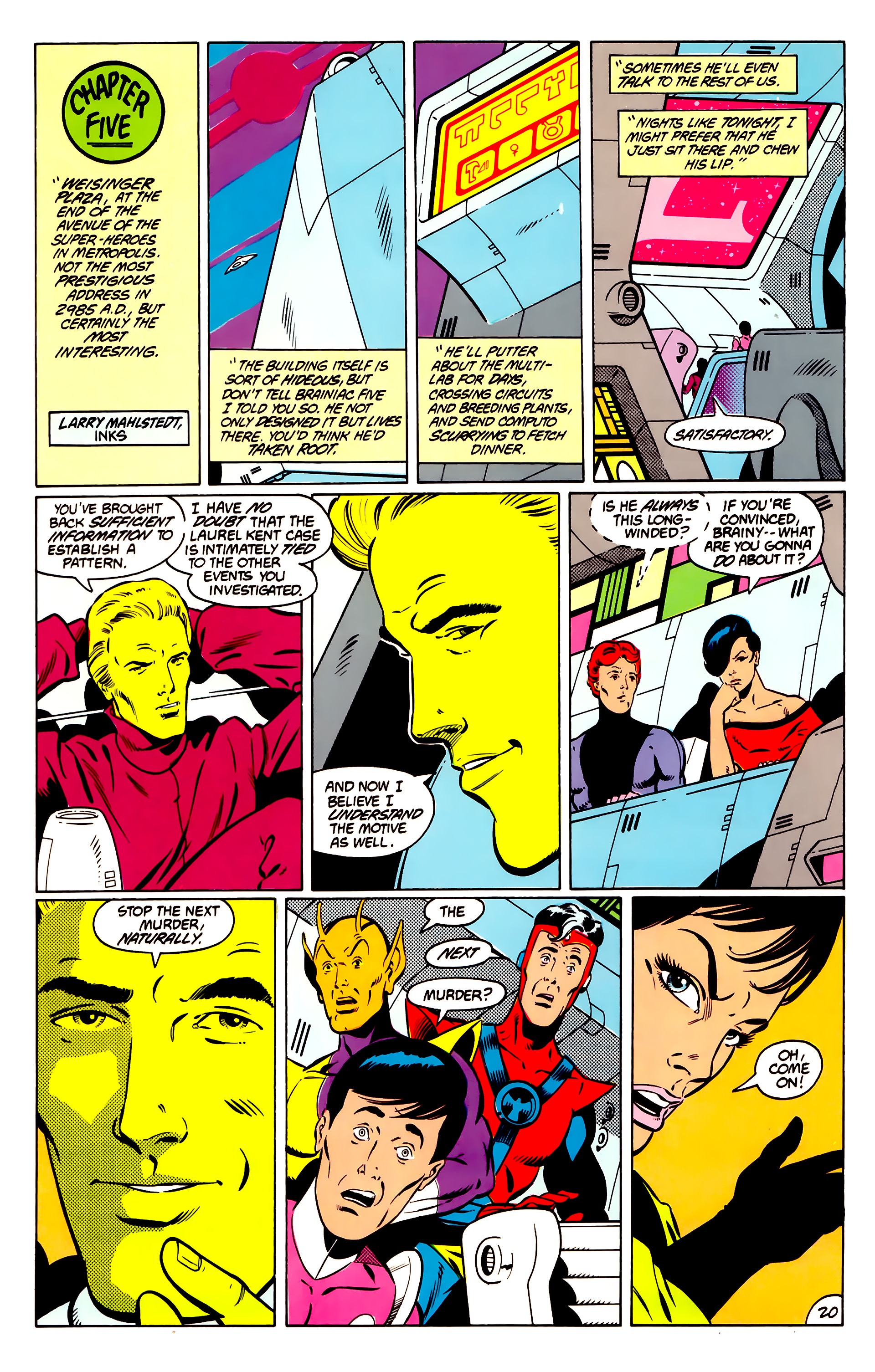 Legion of Super-Heroes (1984) _Annual_1 Page 21