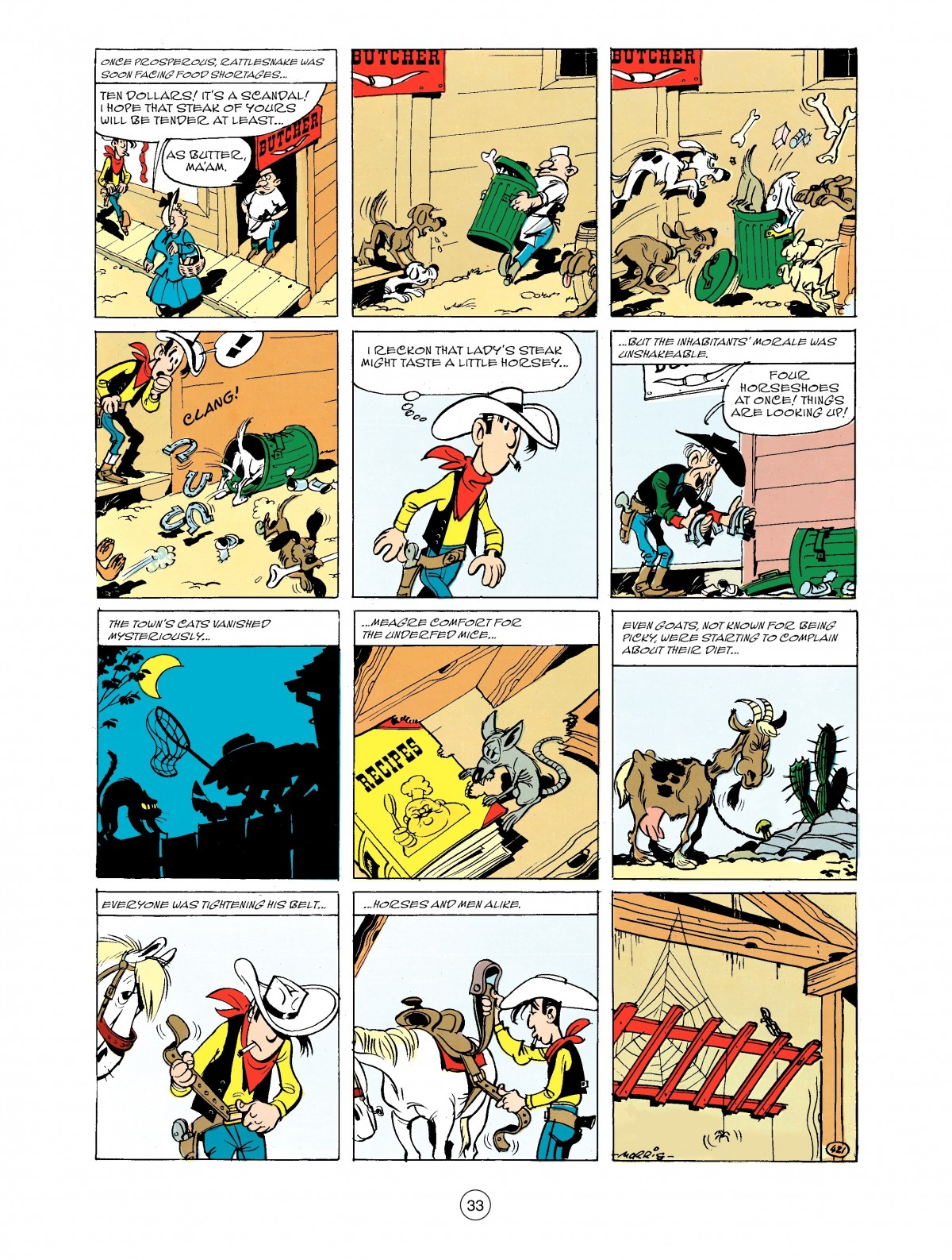 Read online A Lucky Luke Adventure comic -  Issue #43 - 33