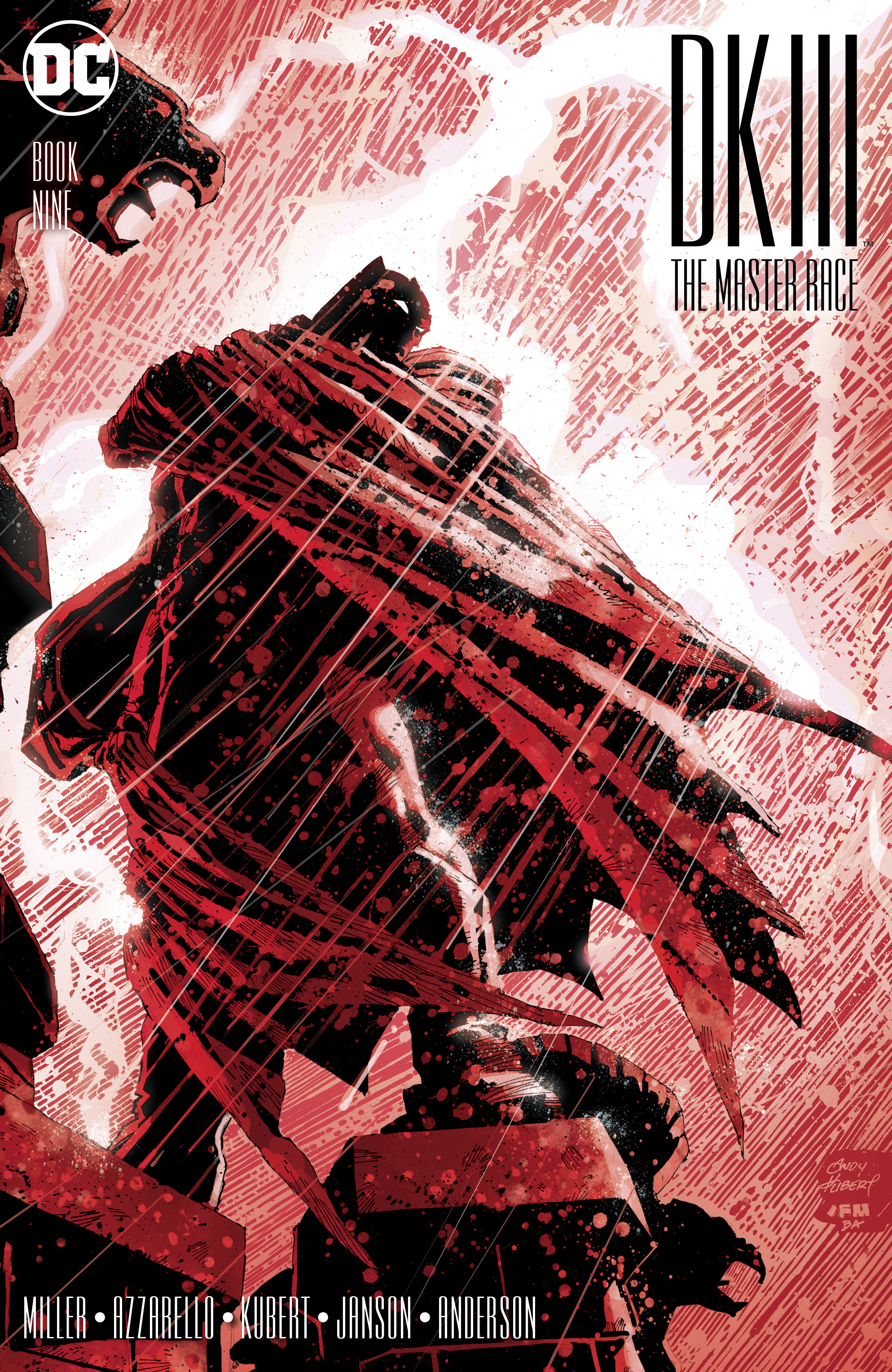 Read online Dark Knight III: The Master Race comic -  Issue #9 - 1