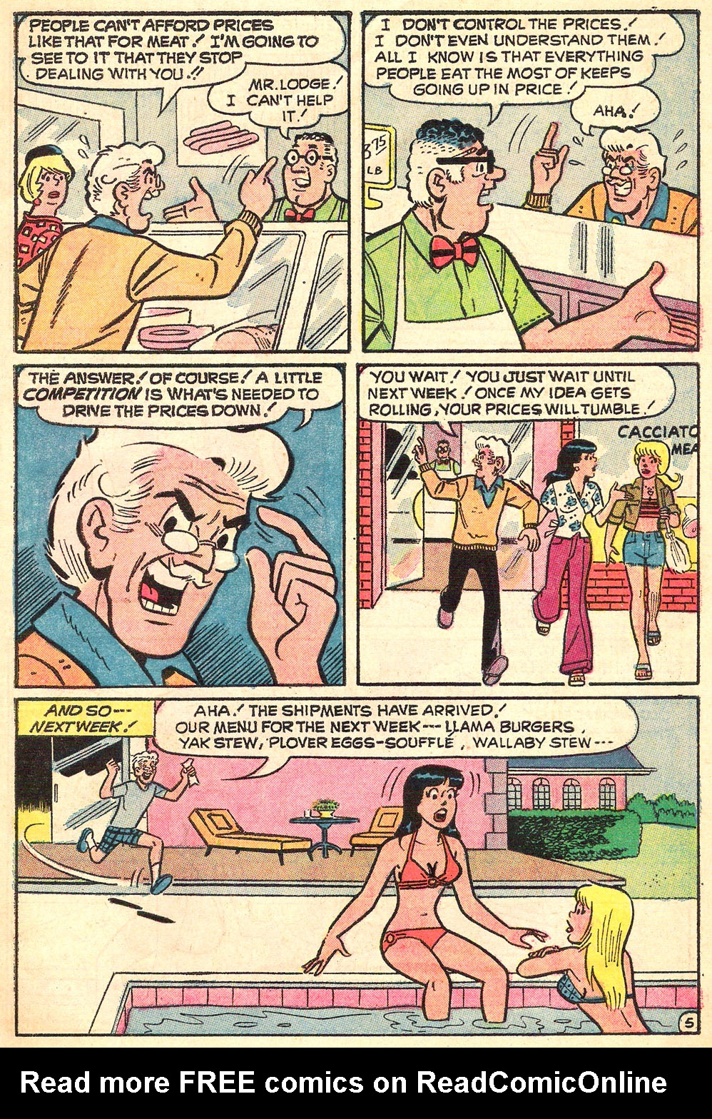 Read online Archie's Girls Betty and Veronica comic -  Issue #216 - 7