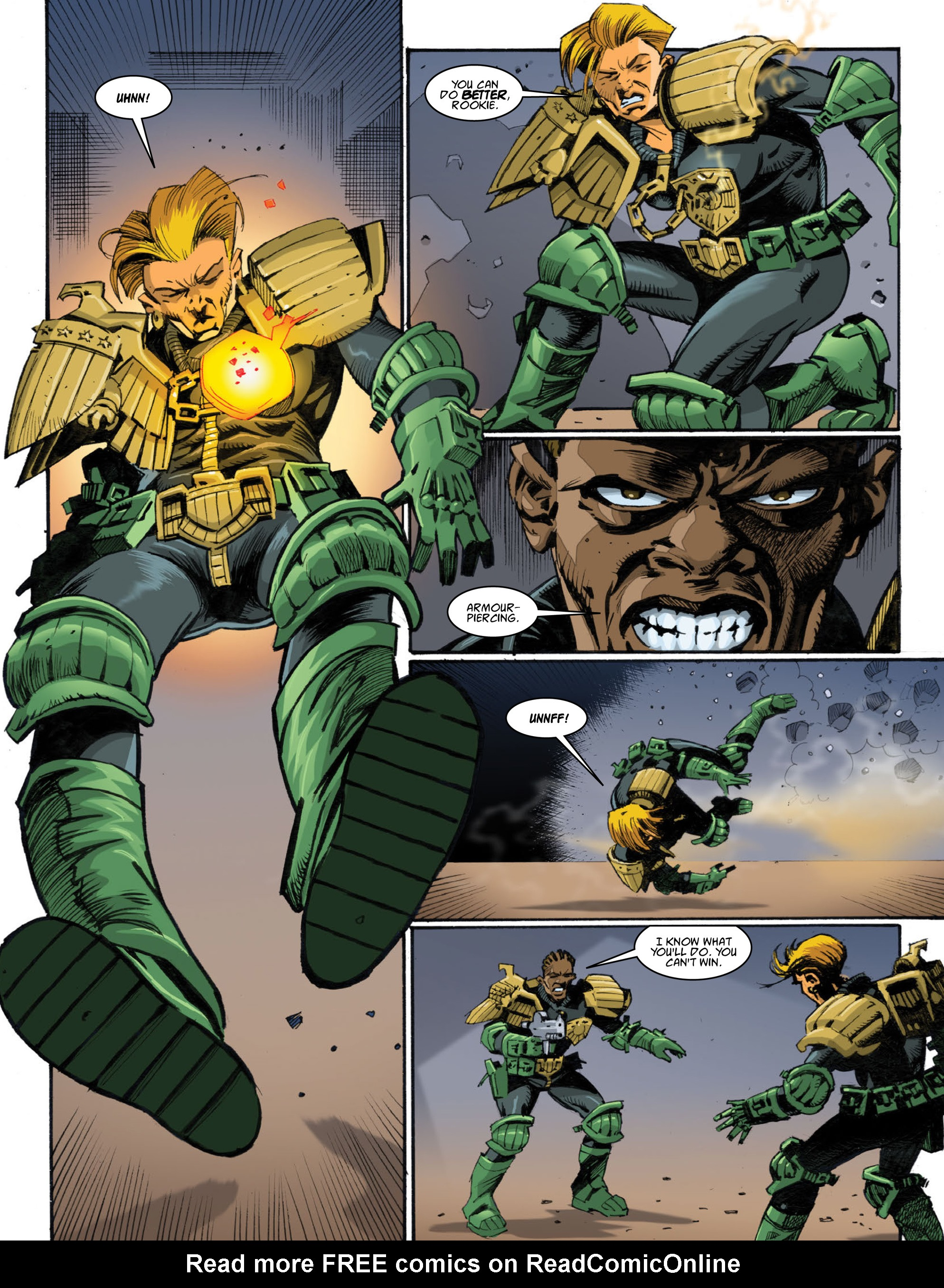Read online 2000 AD comic -  Issue #1998 - 25