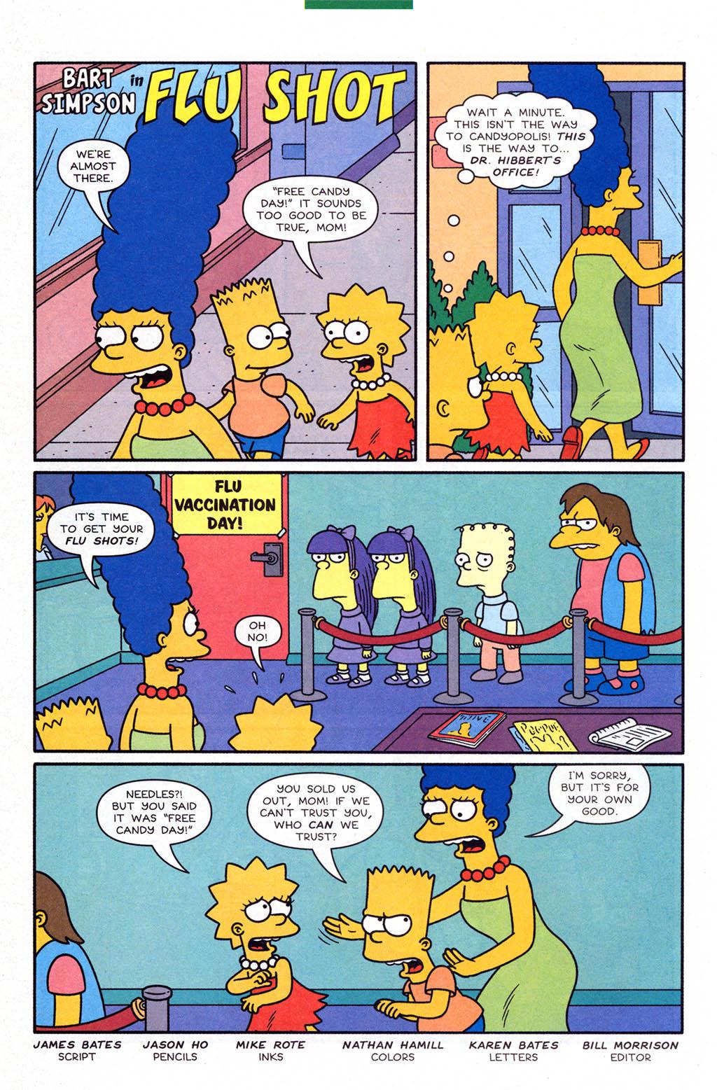 Read online Simpsons Comics Presents Bart Simpson comic -  Issue #23 - 28