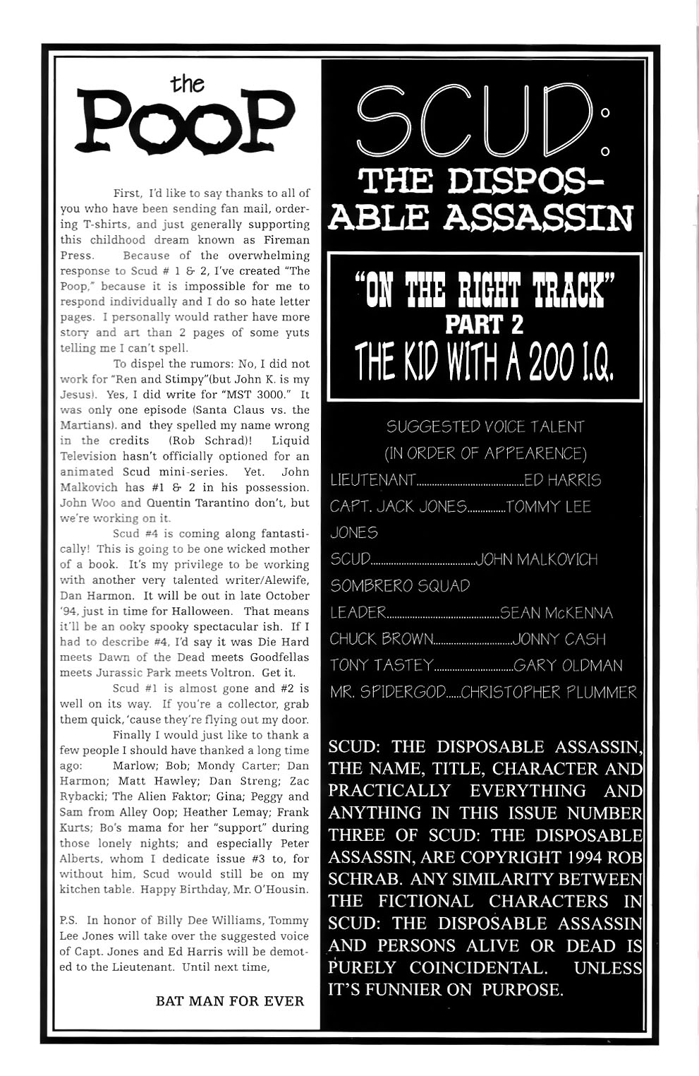 Read online Scud: The Disposable Assassin (1994) comic -  Issue #3 - 2