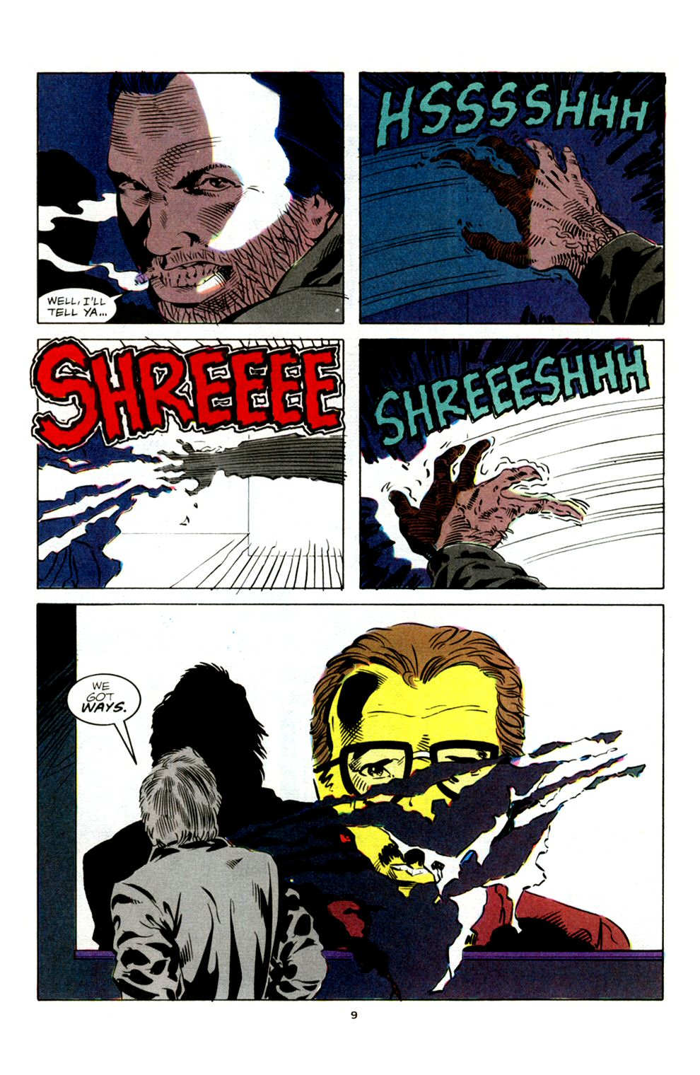 Read online Powerline comic -  Issue #4 - 11