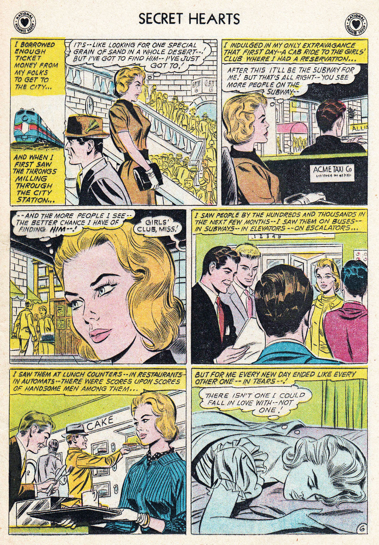 Read online Secret Hearts comic -  Issue #75 - 15
