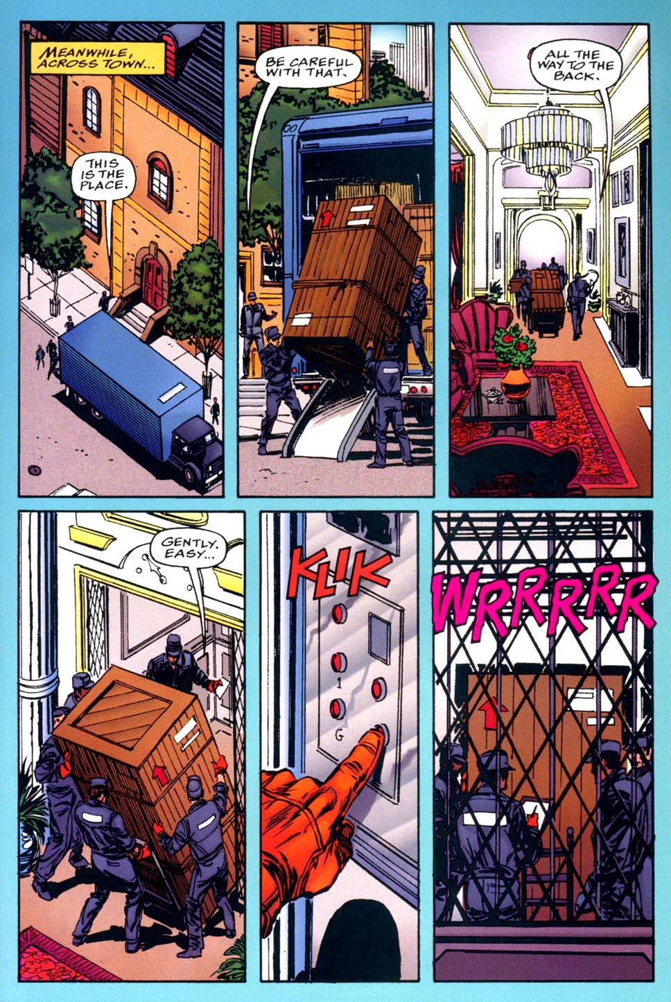 Read online Double Edge comic -  Issue # Issue Alpha - 5