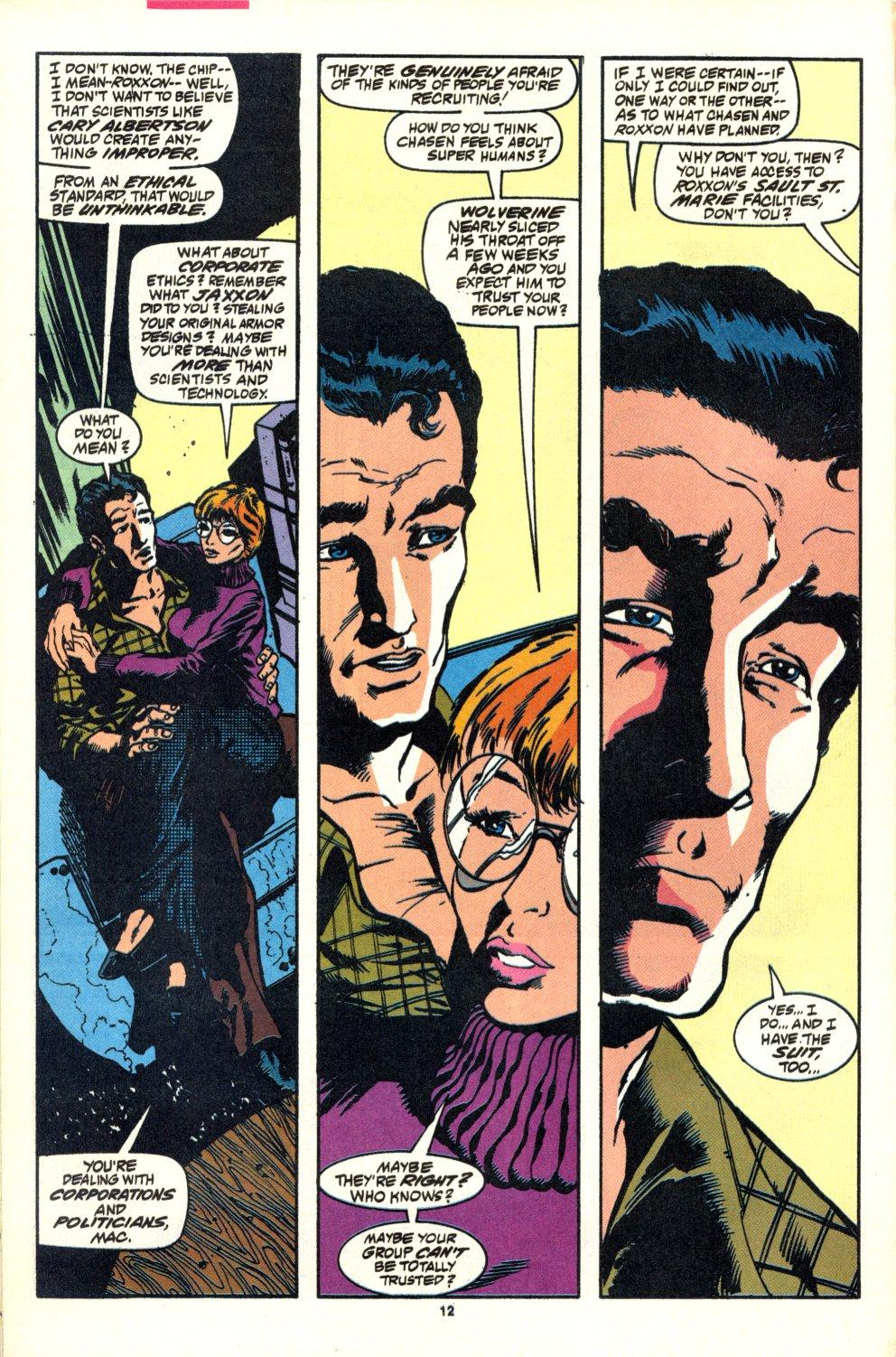Read online Alpha Flight (1983) comic -  Issue #92 - 11
